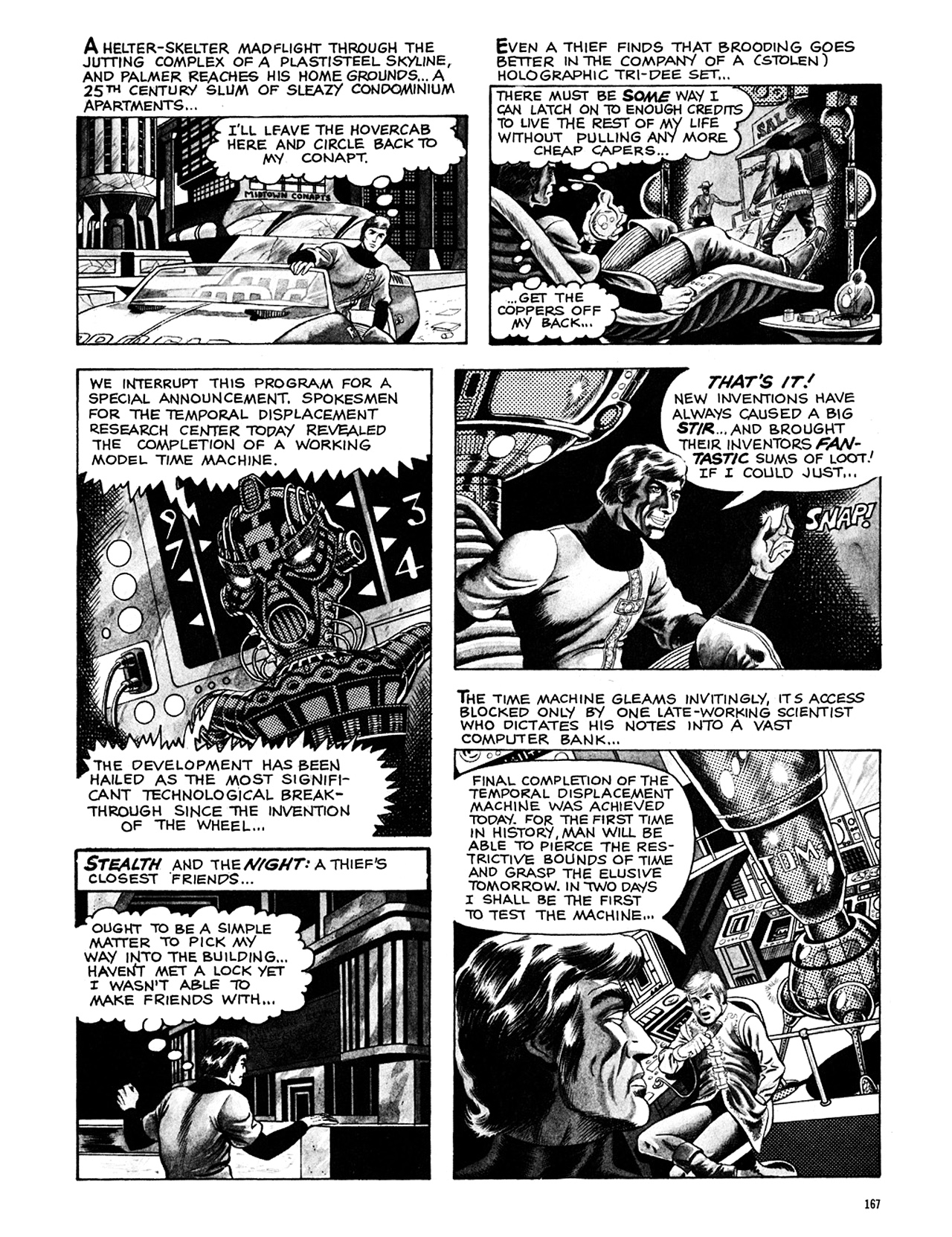 Read online Eerie Archives comic -  Issue # TPB 8 - 168
