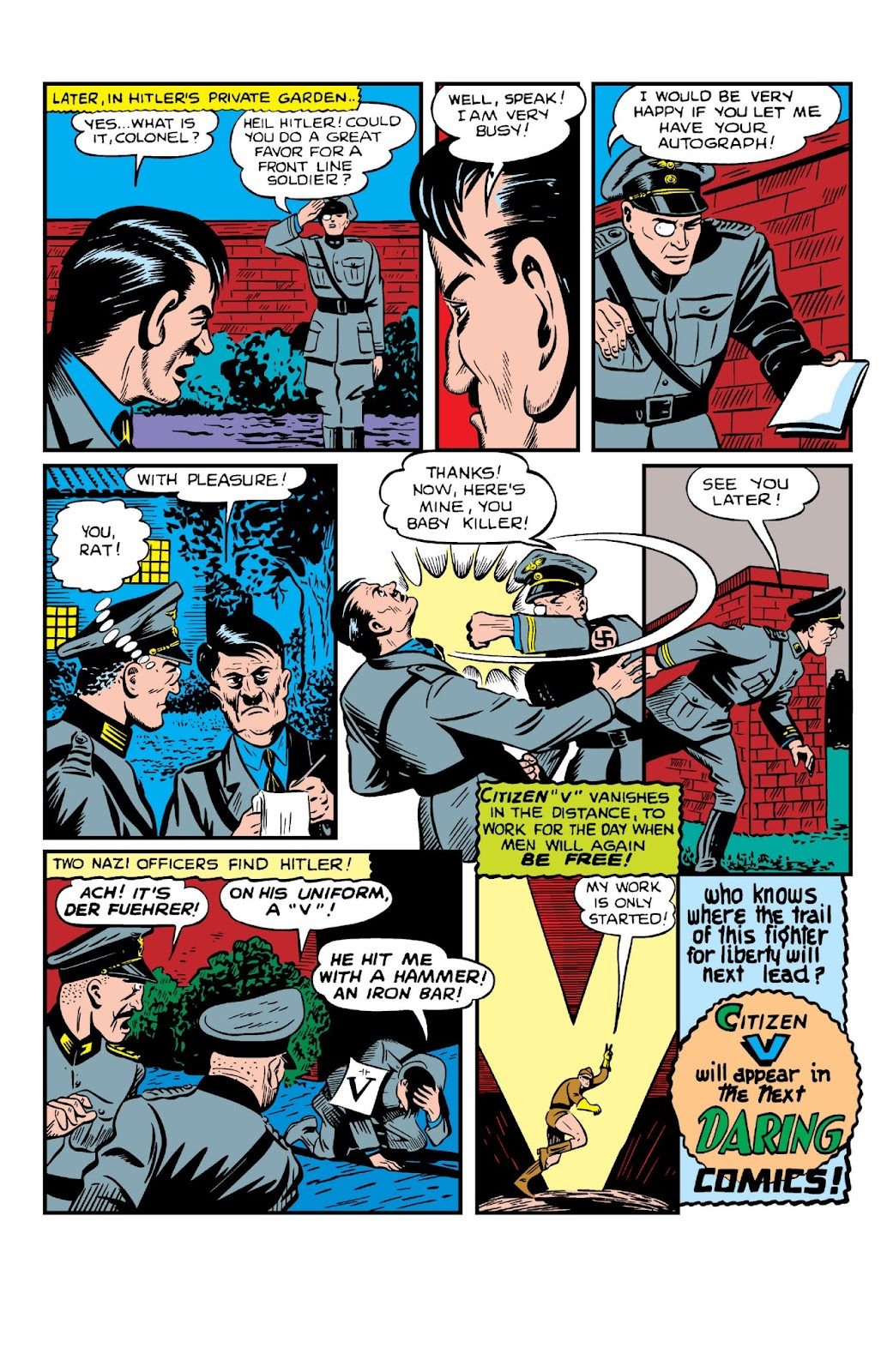 Daring Mystery Comics issue 8 - Page 12