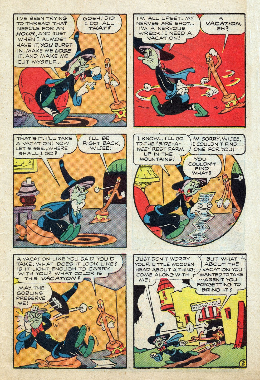 Read online Comedy Comics (1942) comic -  Issue #24 - 42