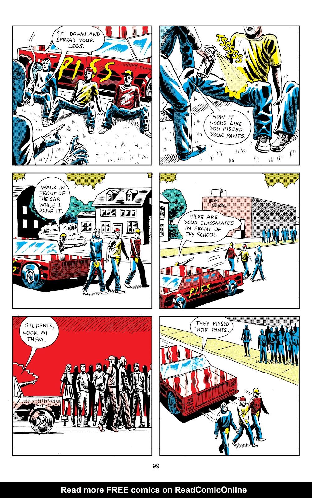 Read online Terror Assaulter: O.M.W.O.T (One Man War On Terror) comic -  Issue # TPB - 97