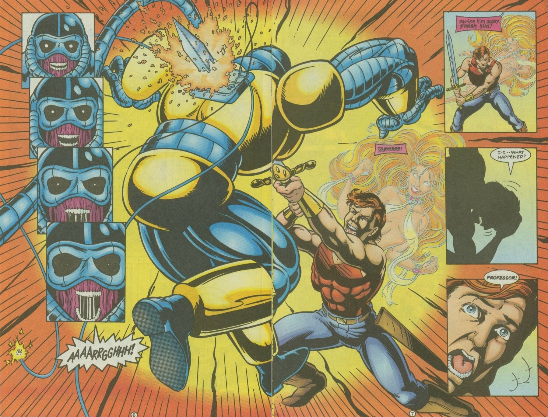 Read online Ex-Mutants comic -  Issue #10 - 8
