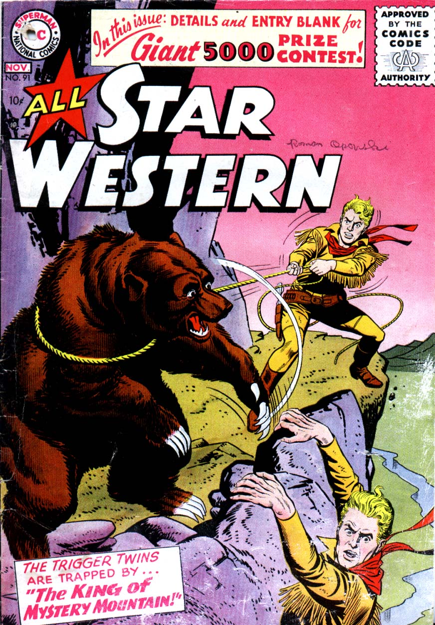 Read online All-Star Western (1951) comic -  Issue #91 - 1