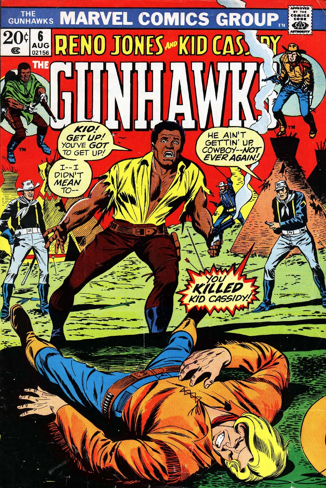Gunhawks 6 Page 1