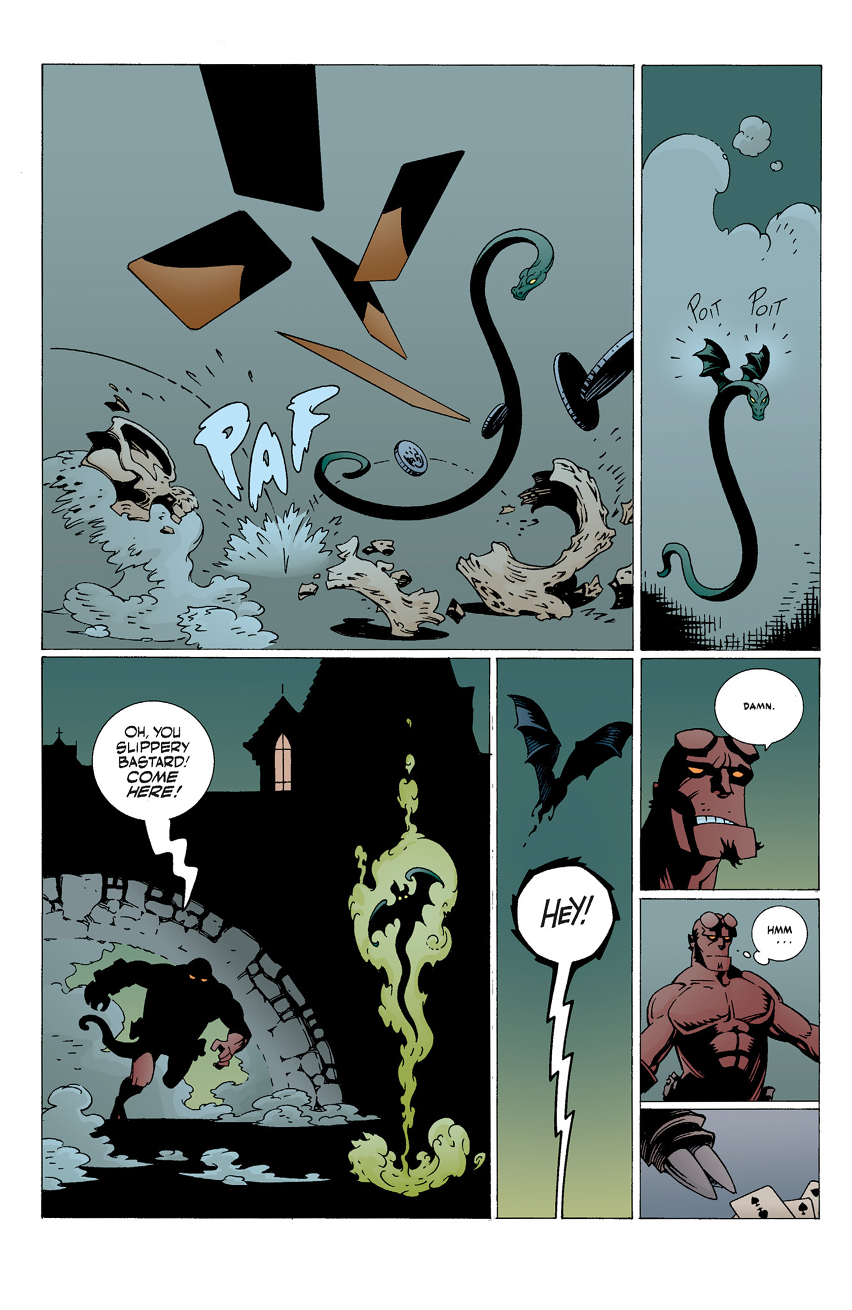 Read online Hellboy: The Troll Witch and Others comic -  Issue # TPB - 52