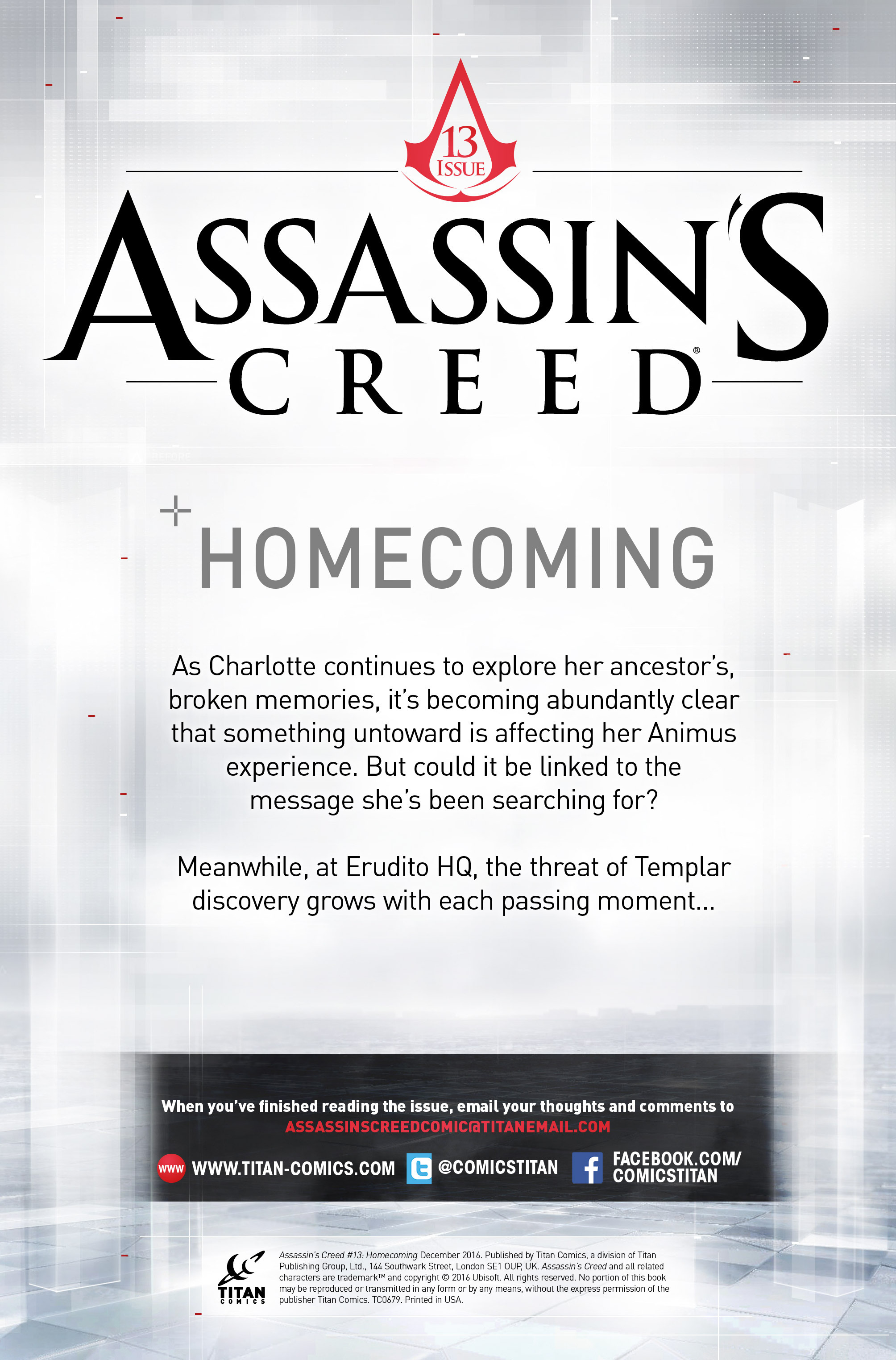 Read online Assassin's Creed (2015) comic -  Issue #13 - 2