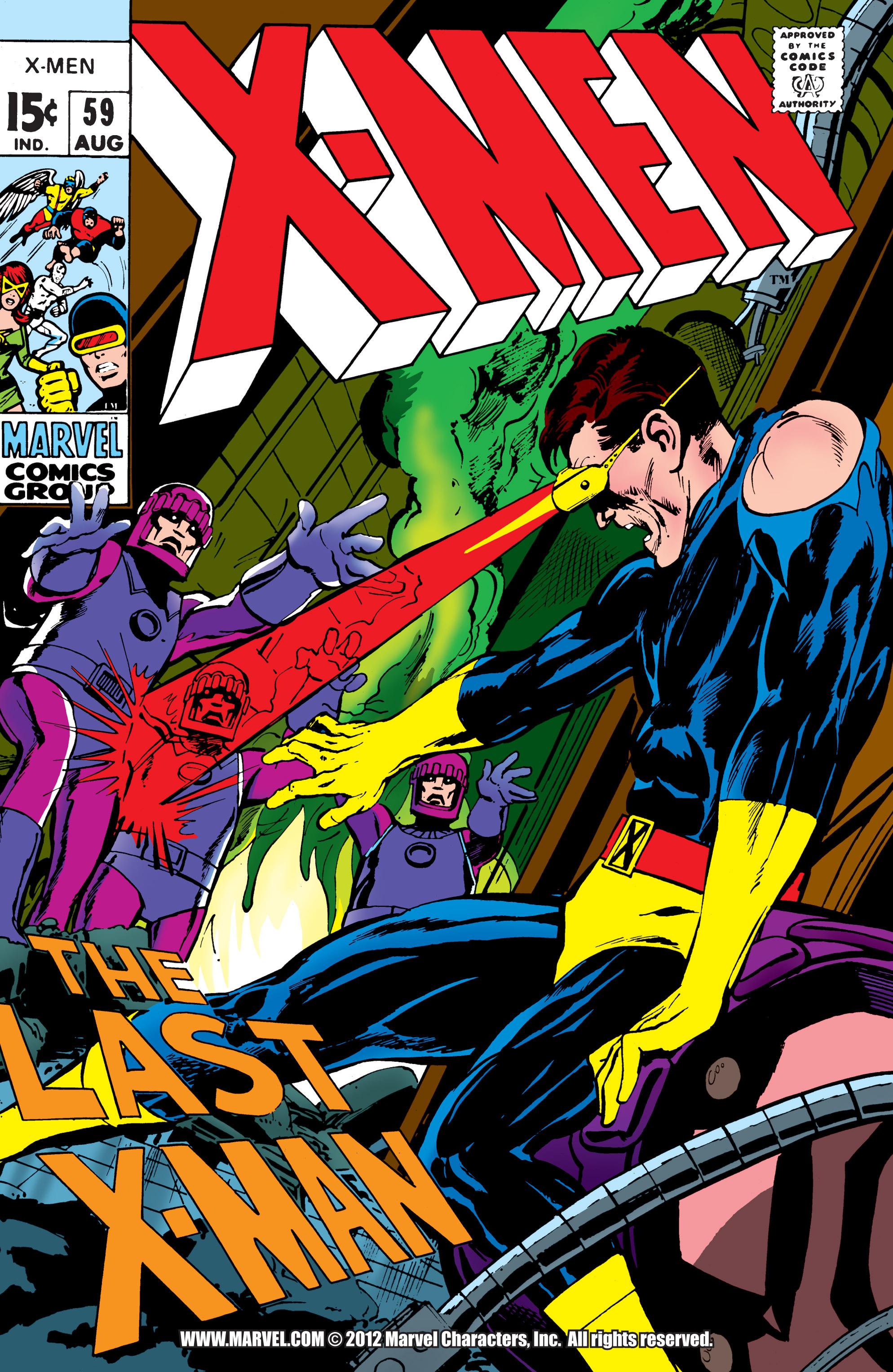 Uncanny X-Men (1963) 59 Page 1