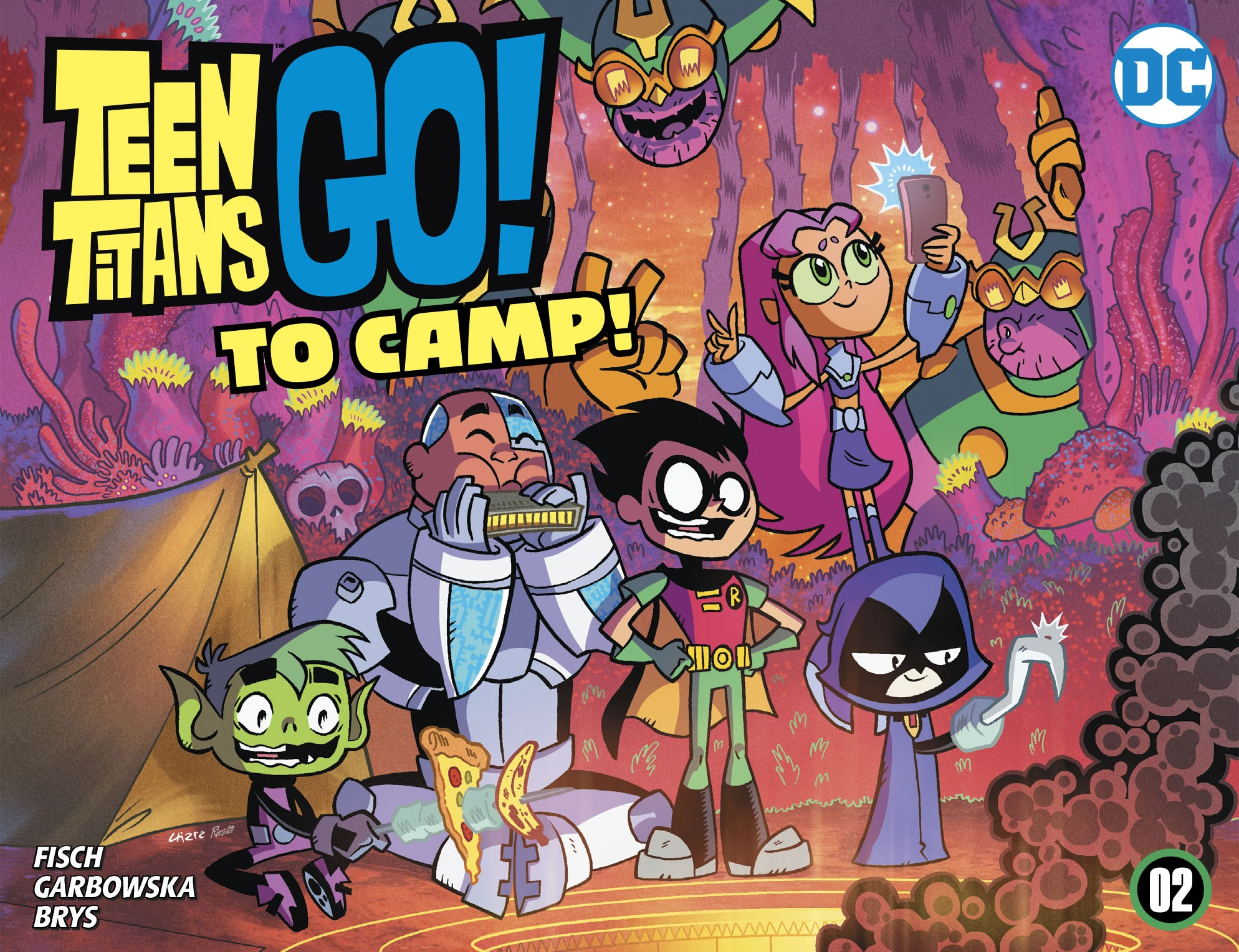 Teen Titans Go! To Camp 2 Page 1