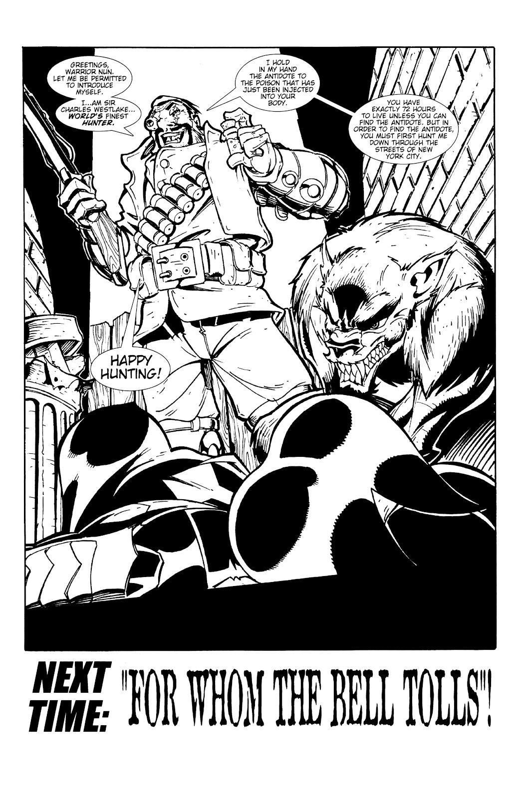 Warrior Nun Areala:  Dangerous Game Issue #1 #1 - English 17