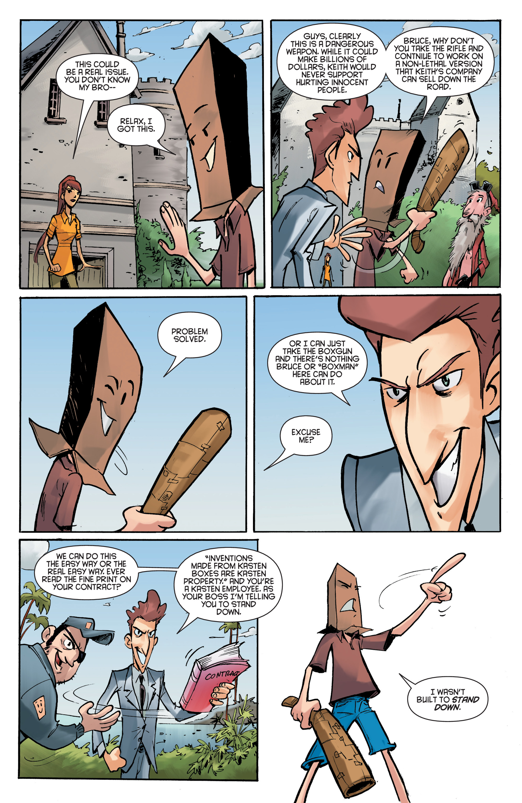 Read online Smosh comic -  Issue #5 - 18