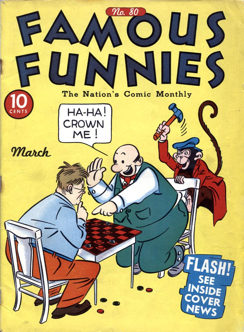 Read online Famous Funnies comic -  Issue #80 - 1