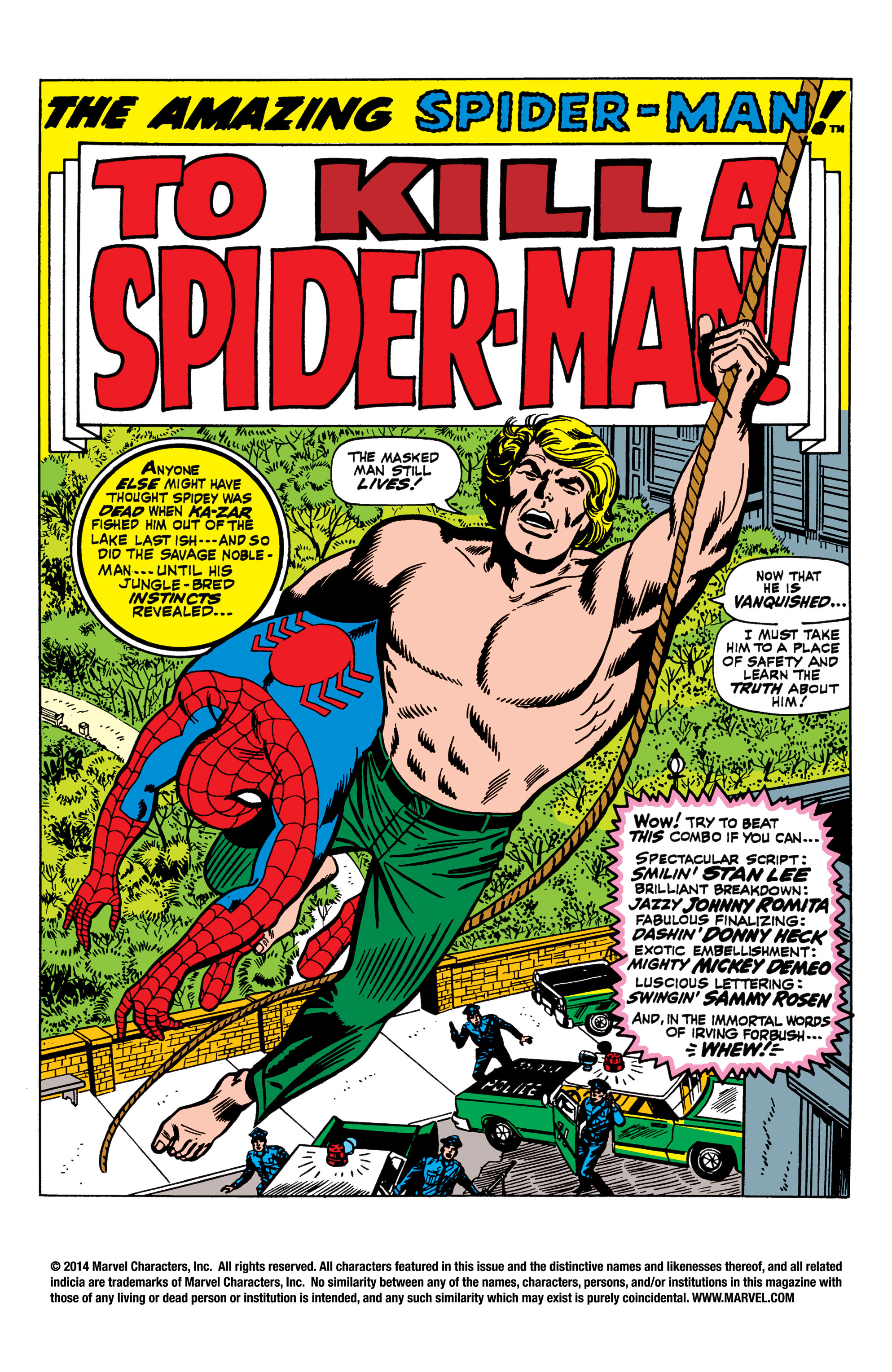 The Amazing Spider-Man (1963) 58 Page 1