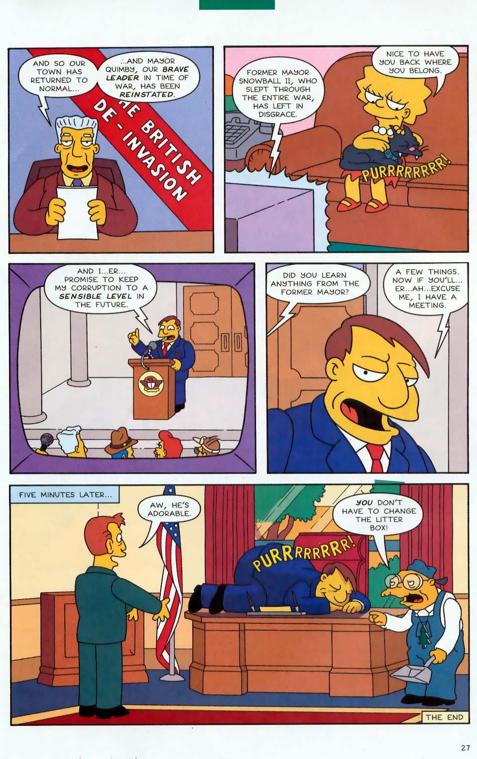 Read online Simpsons Comics comic -  Issue #87 - 28