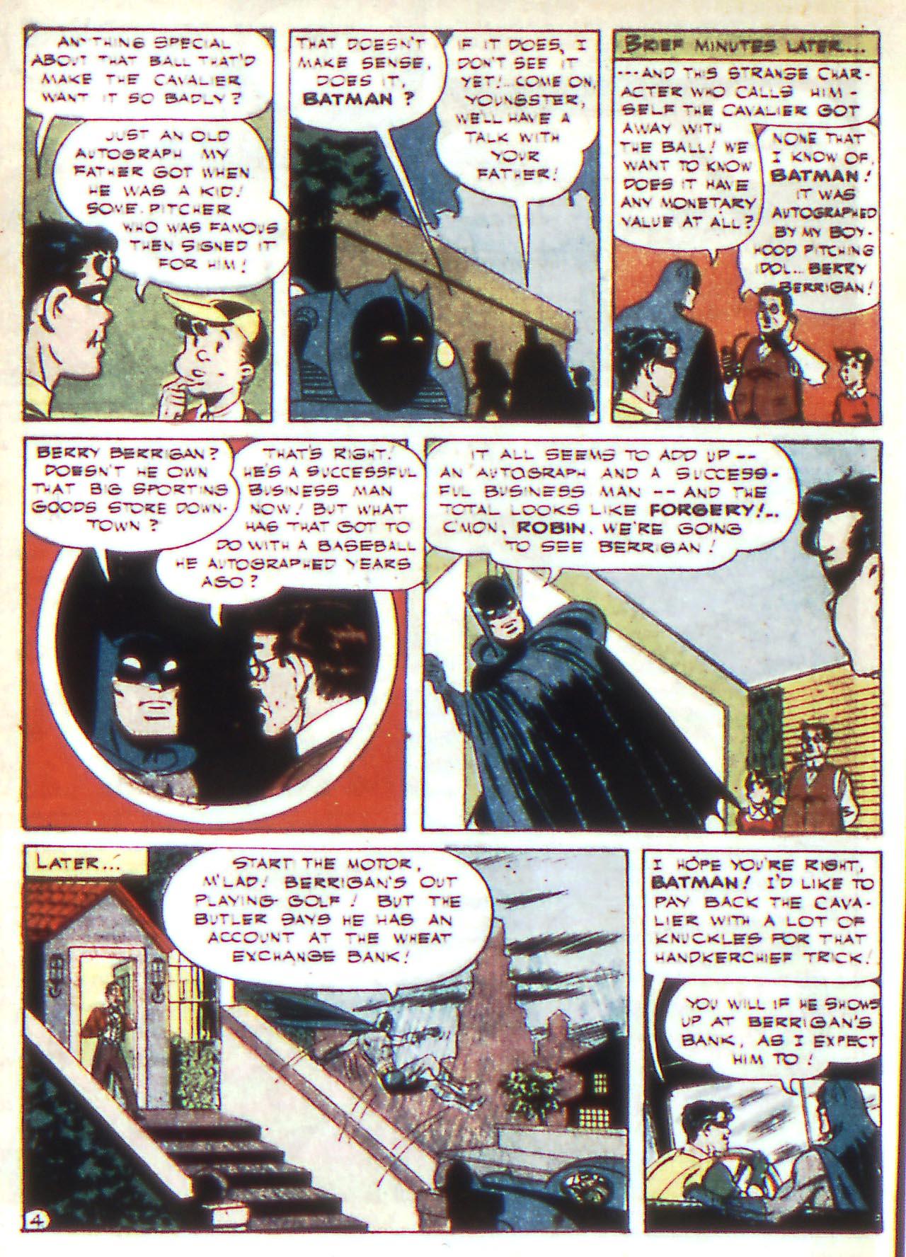 Read online Detective Comics (1937) comic -  Issue #81 - 6