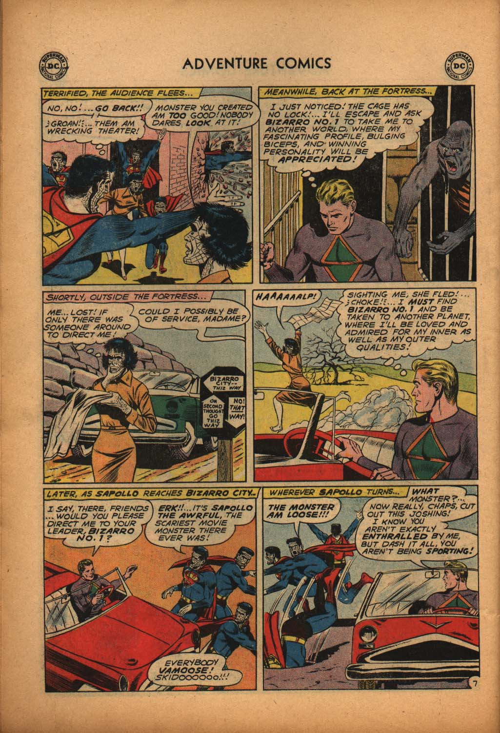 Read online Adventure Comics (1938) comic -  Issue #292 - 26