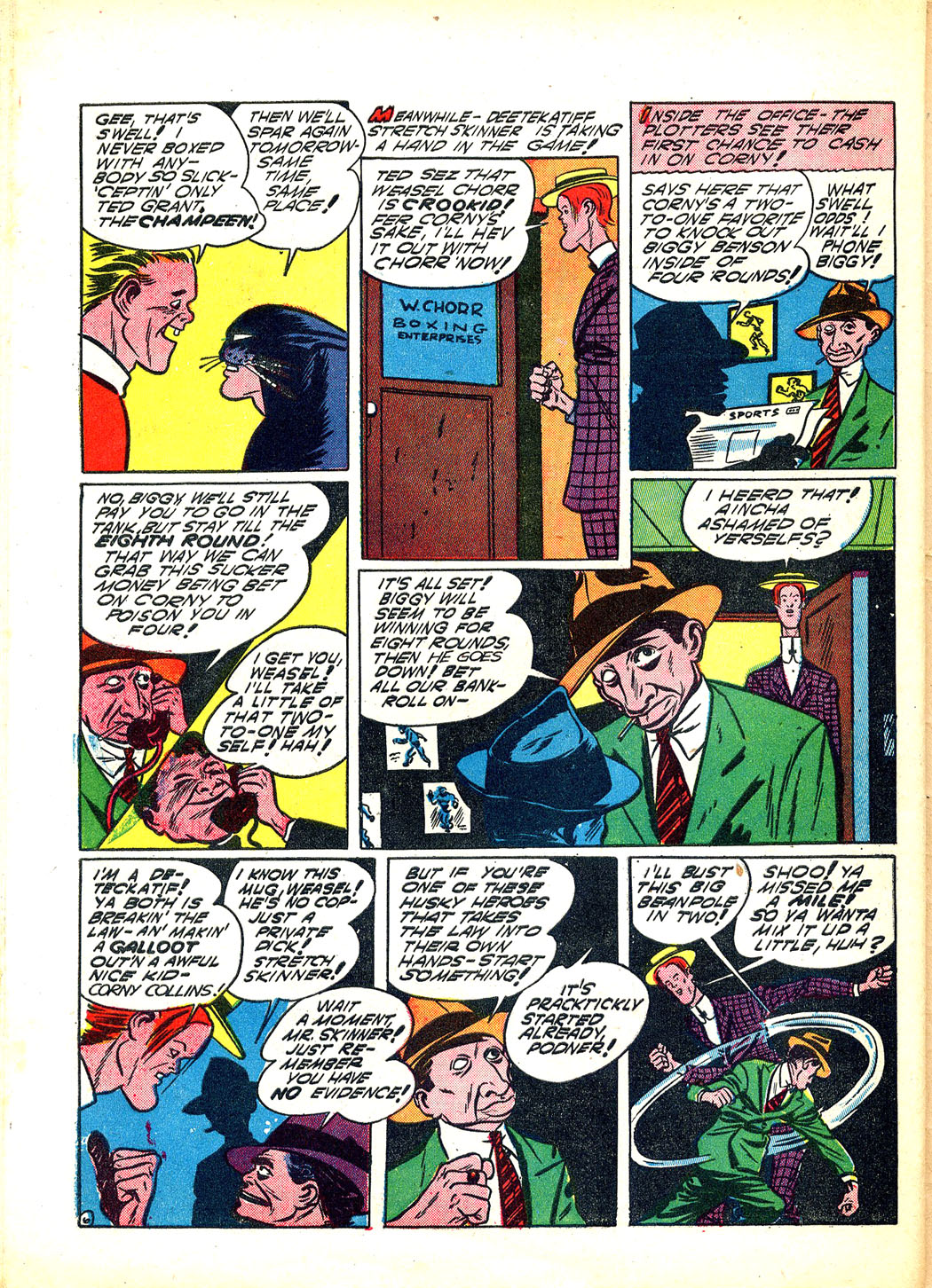 Read online Sensation (Mystery) Comics comic -  Issue #12 - 58