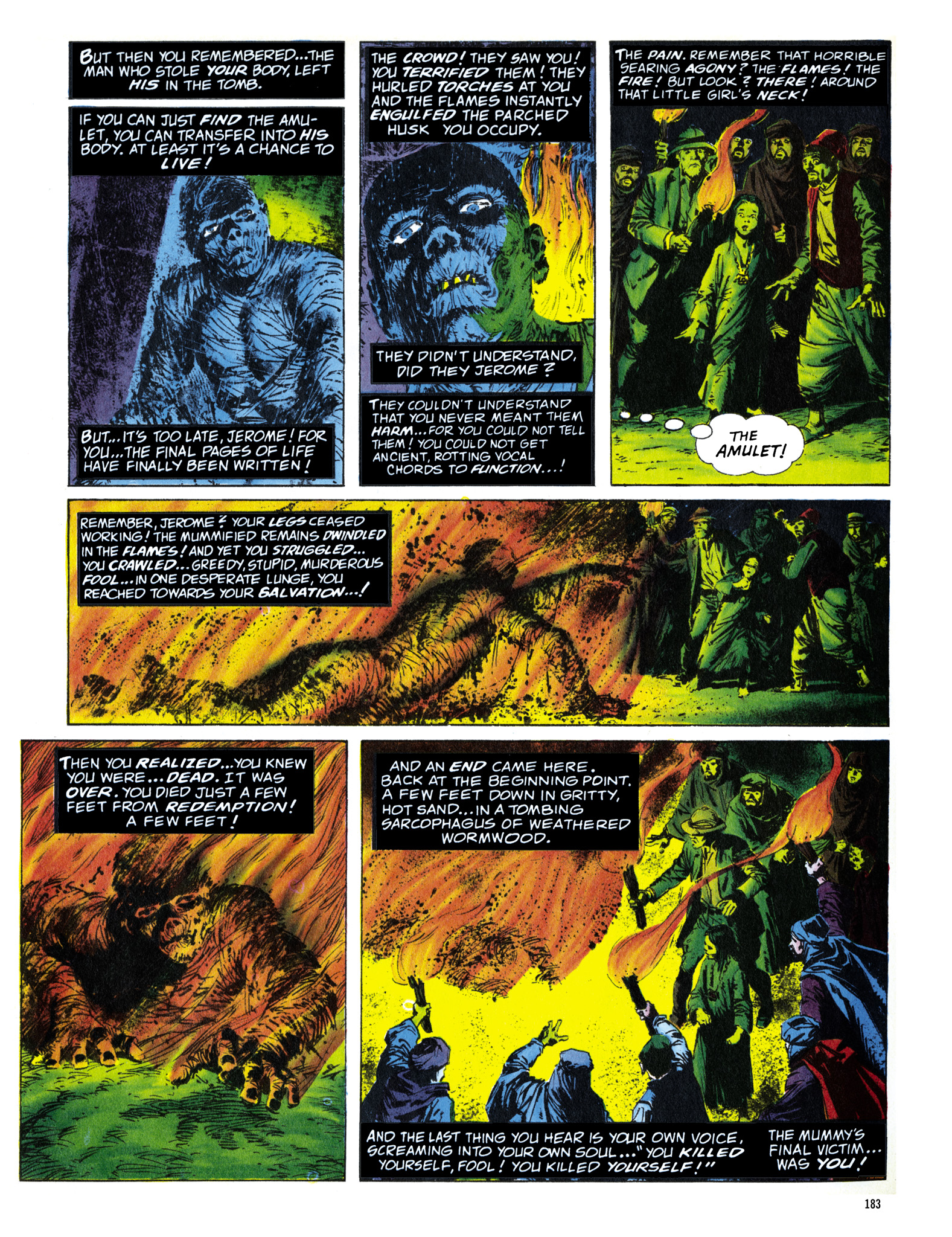 Read online Eerie Archives comic -  Issue # TPB 16 - 184