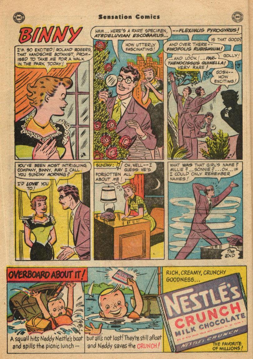 Read online Sensation (Mystery) Comics comic -  Issue #100 - 16