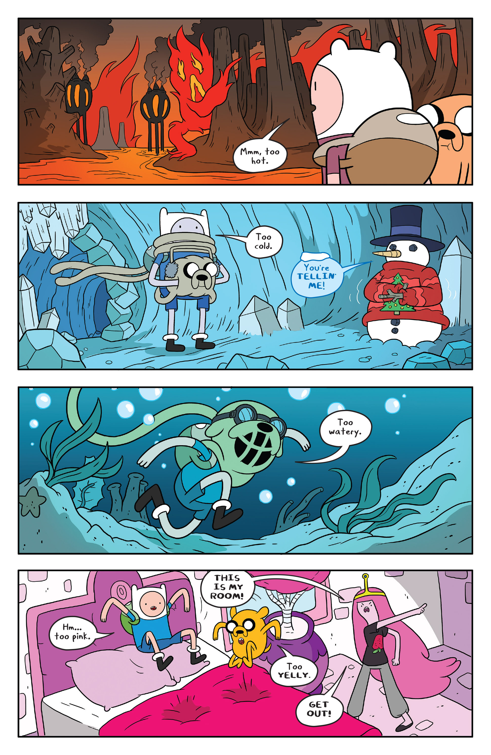 Read online Adventure Time comic -  Issue #58 - 9