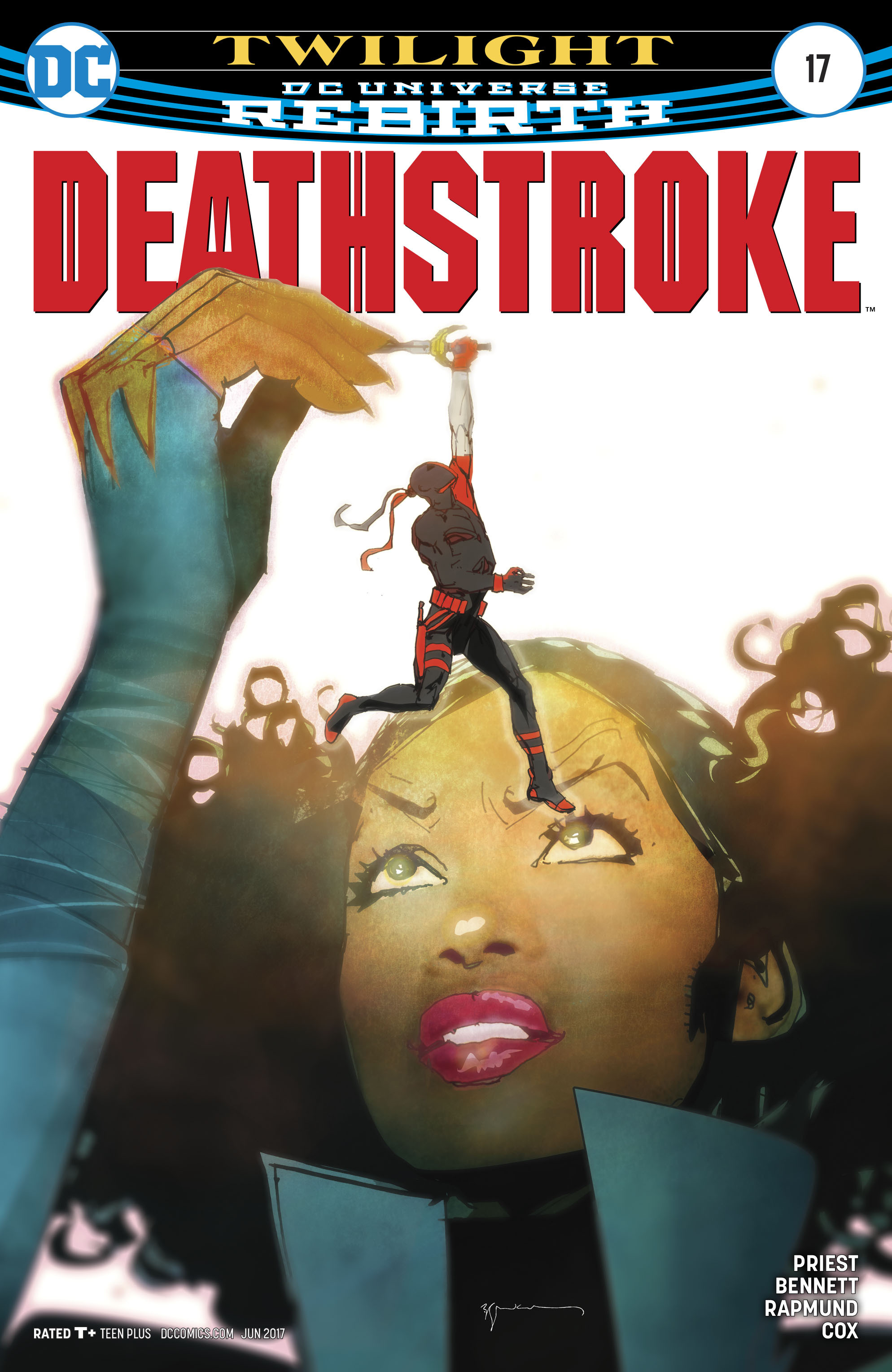 Deathstroke (2016) 17 Page 1