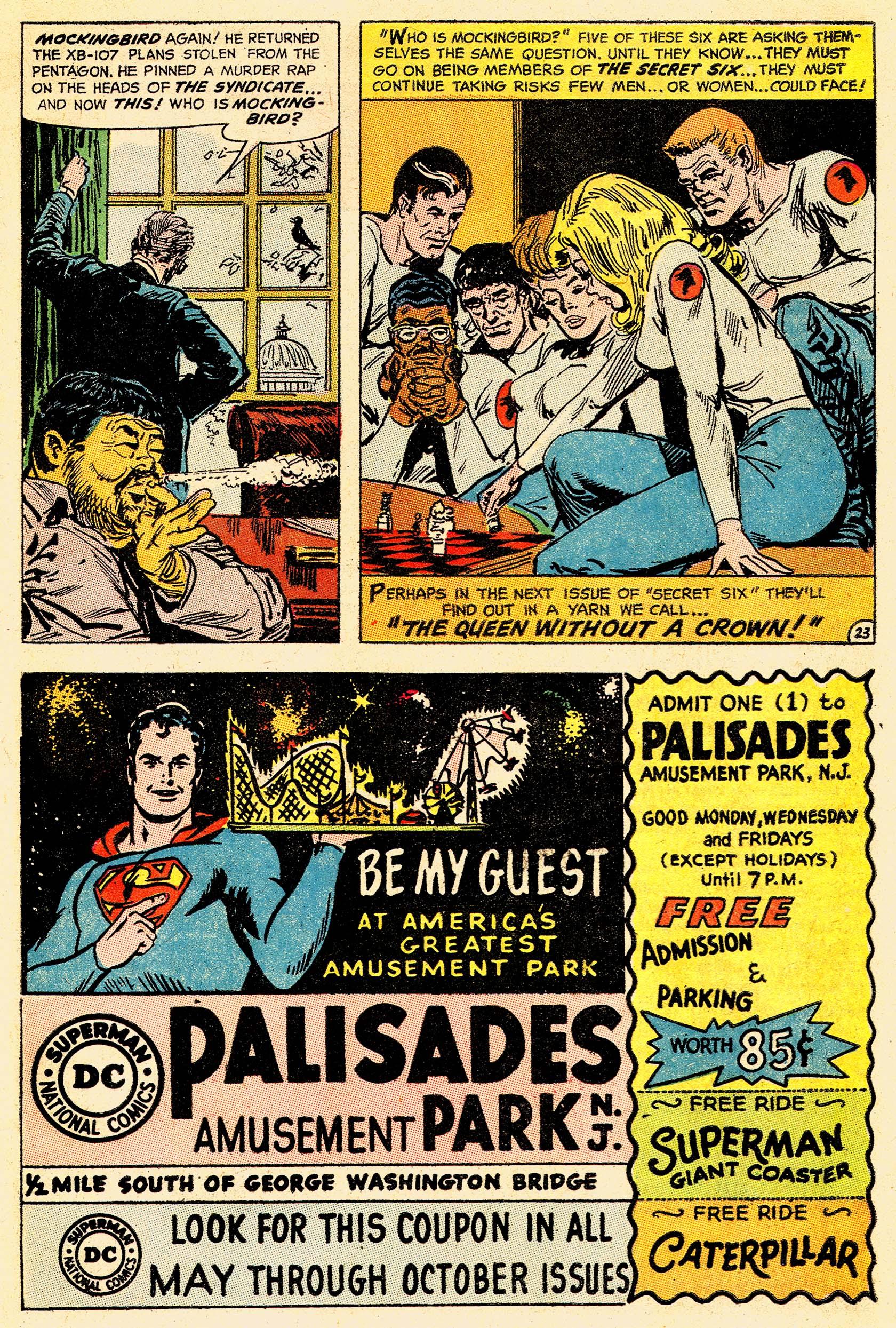 Read online Secret Six (1968) comic -  Issue #4 - 30