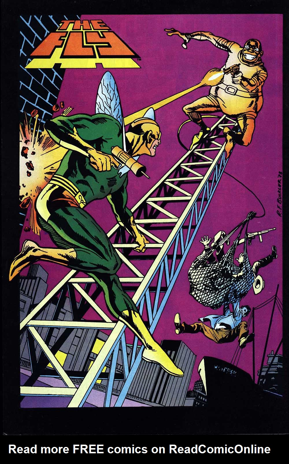 Read online The Fly (1983) comic -  Issue #1 - 34