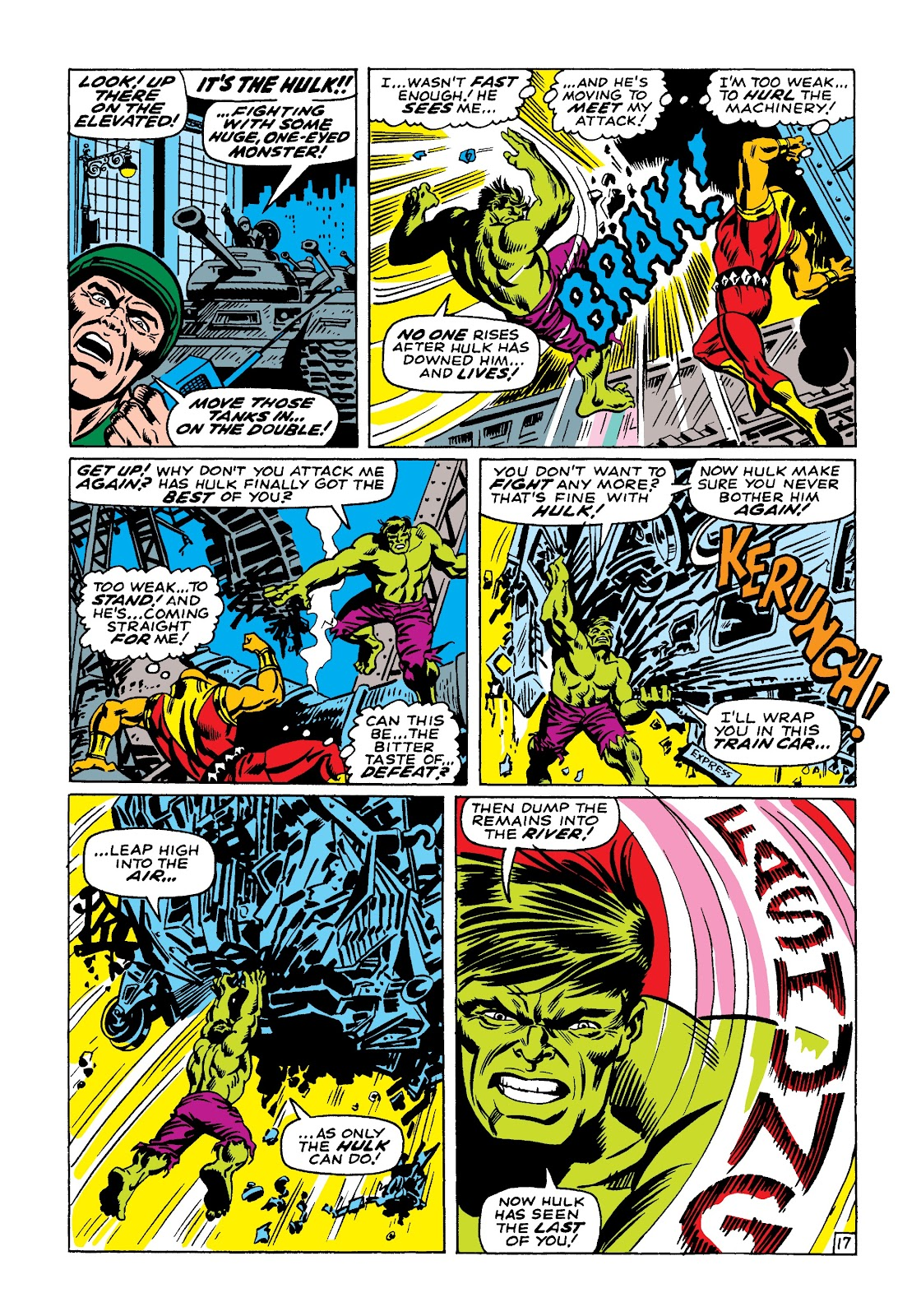 Read online Marvel Masterworks: The Incredible Hulk comic -  Issue # TPB 4 (Part 1) - 24