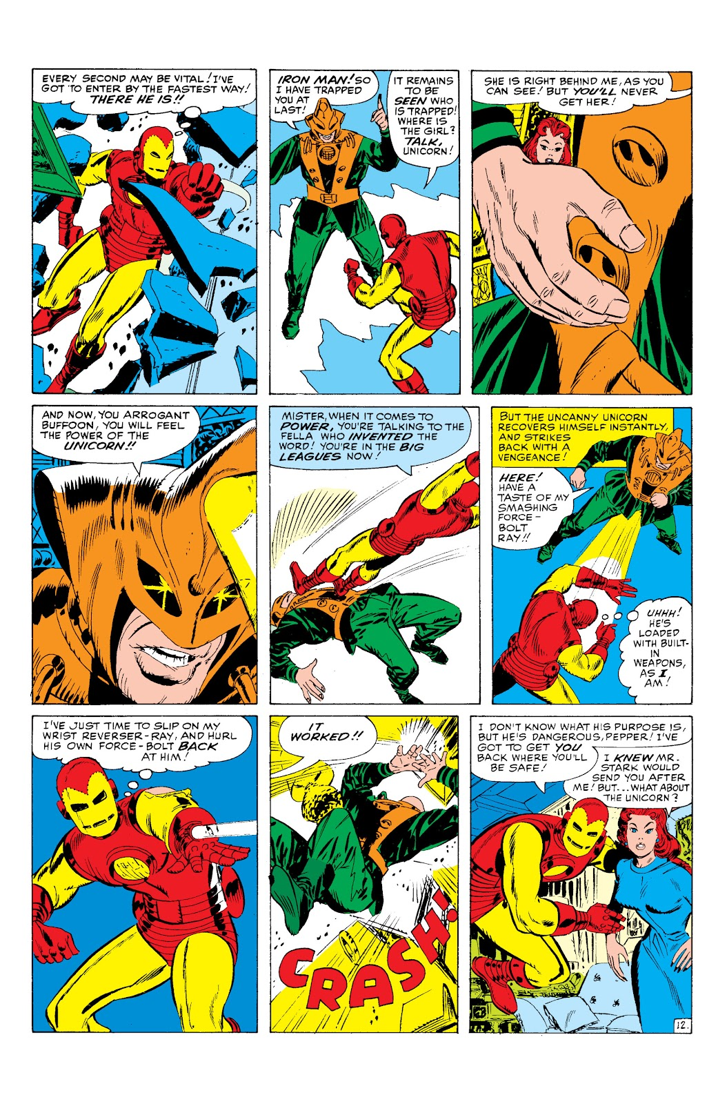 Read online Marvel Masterworks: The Invincible Iron Man comic -  Issue # TPB 2 (Part 1) - 93