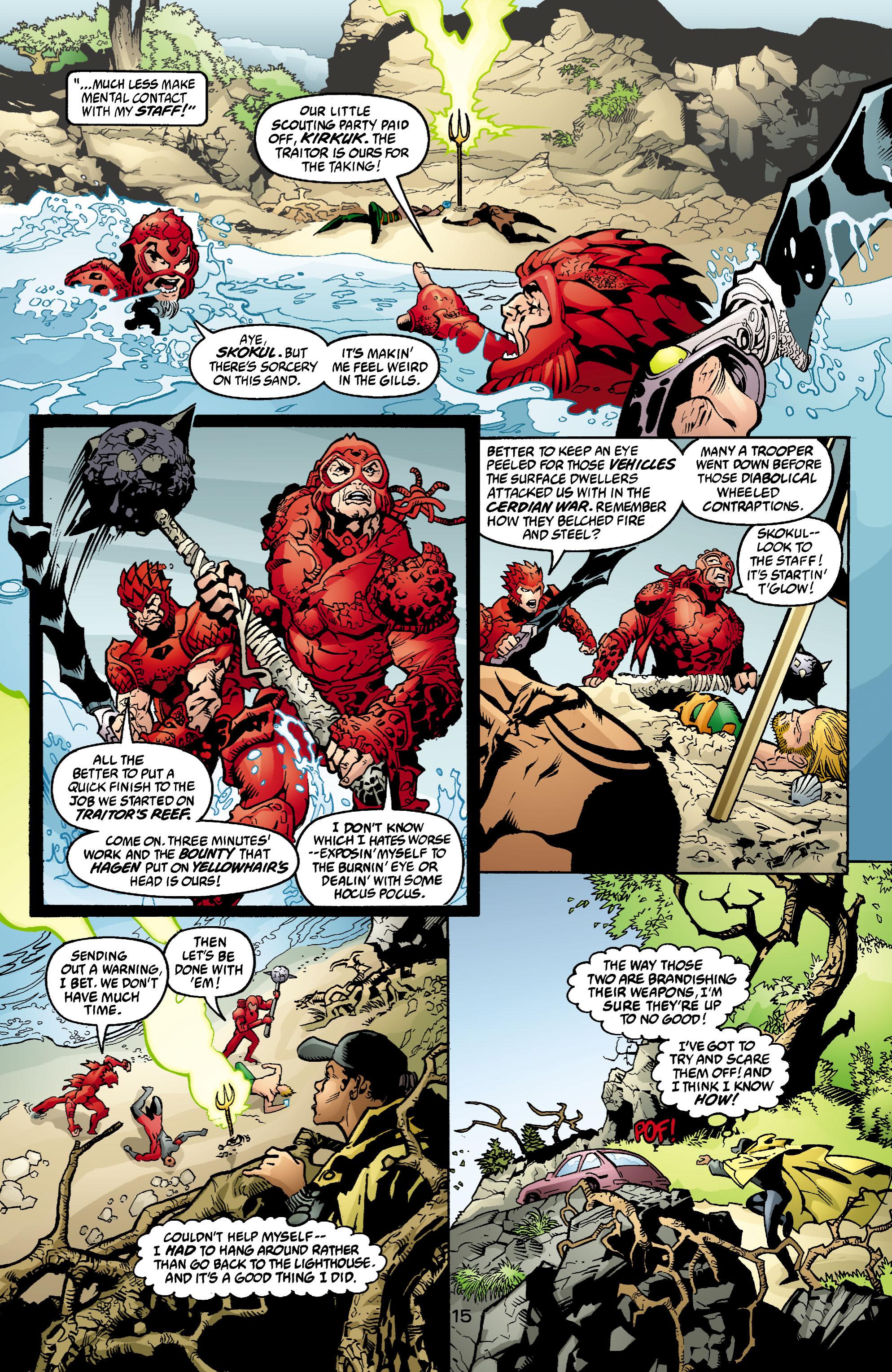 Read online Aquaman (2003) comic -  Issue #4 - 16