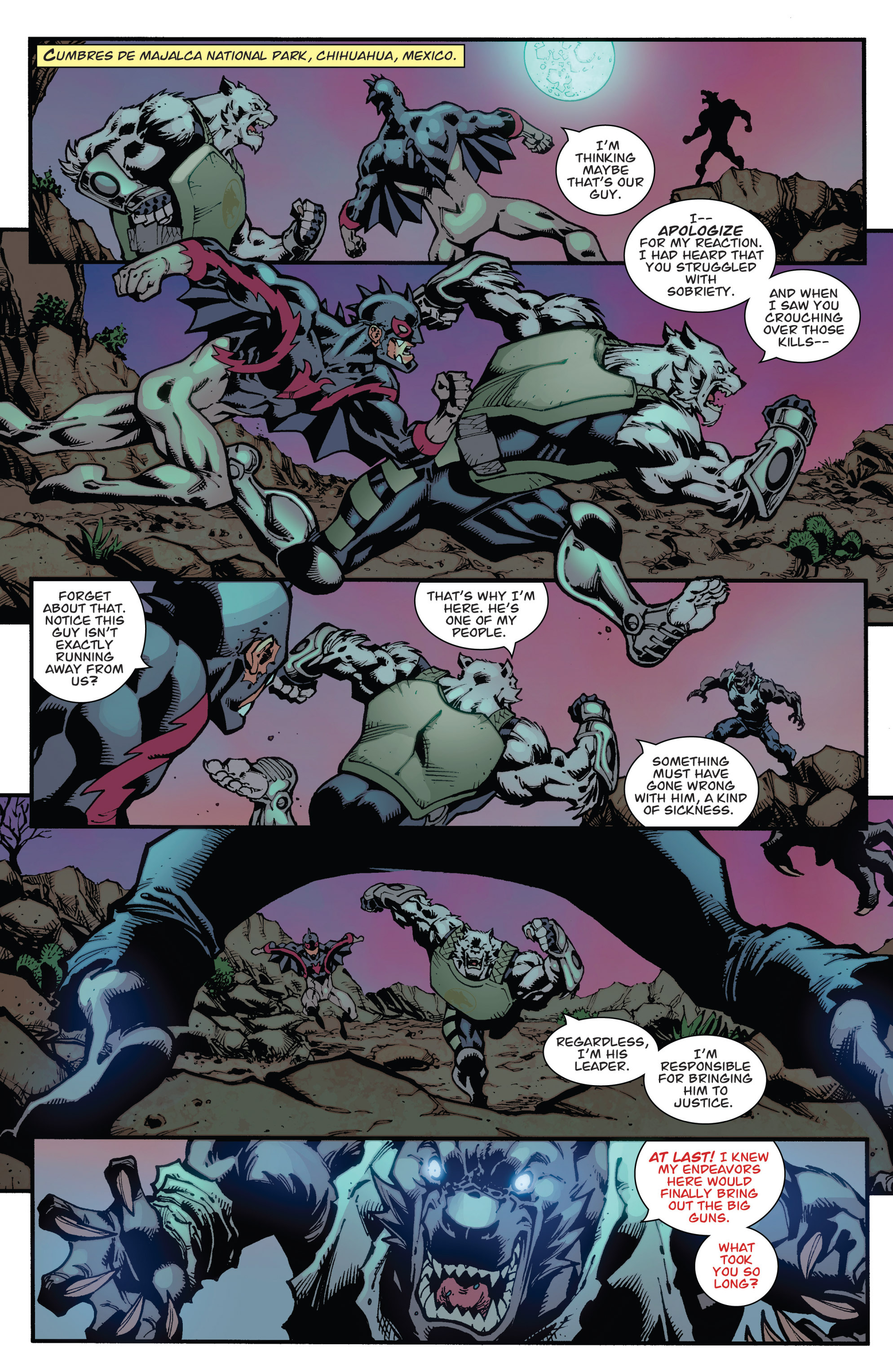 Read online Guarding the Globe (2012) comic -  Issue #3 - 13