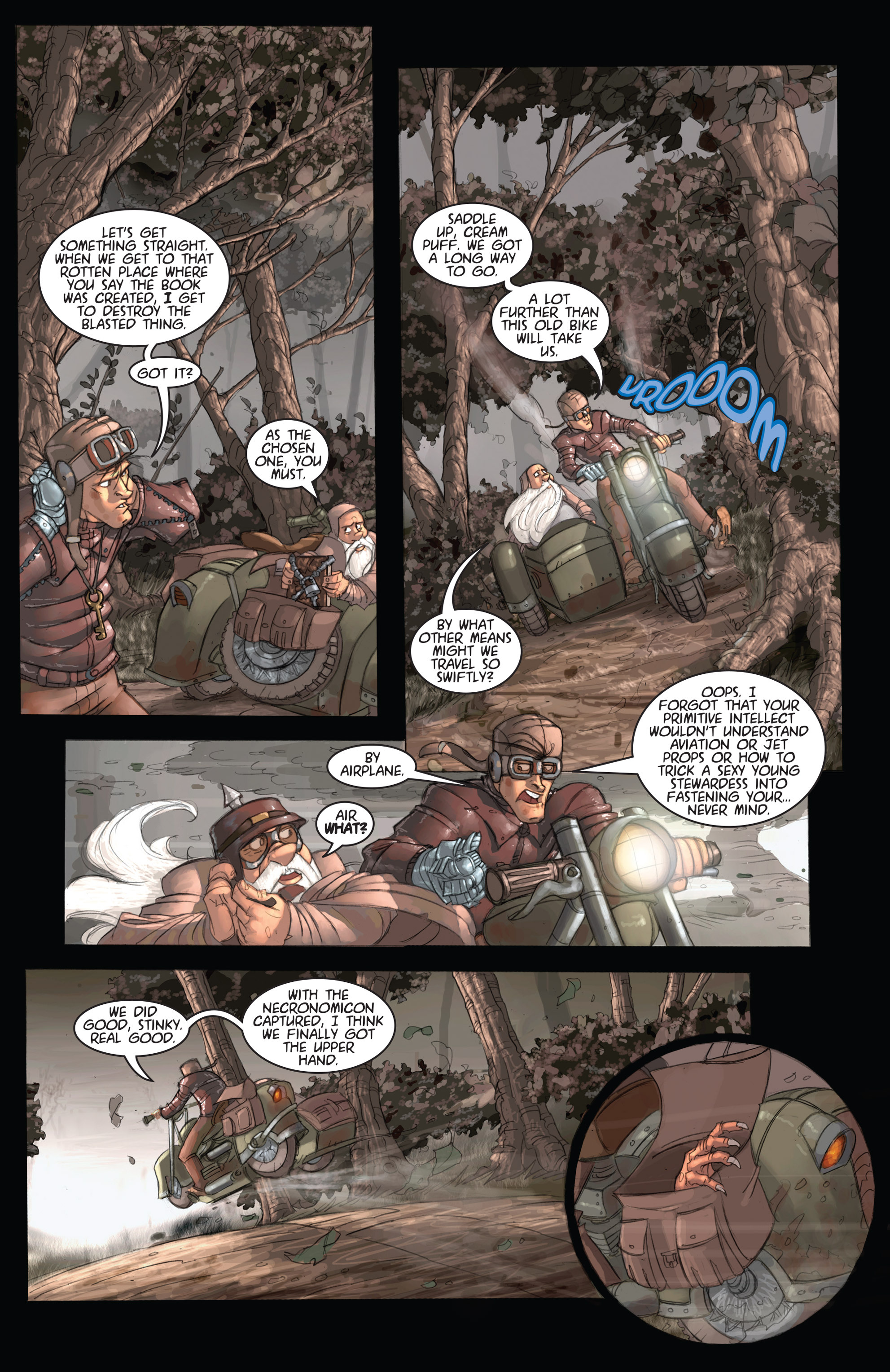 Read online Army of Darkness: Ashes 2 Ashes comic -  Issue #2 - 27