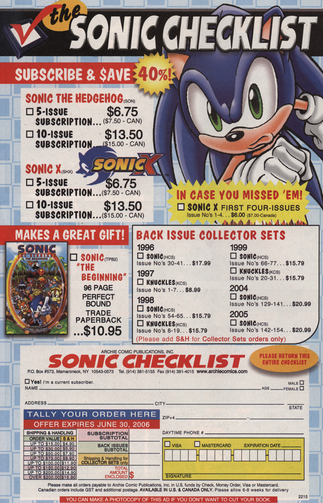 Read online Sonic X comic -  Issue #7 - 34