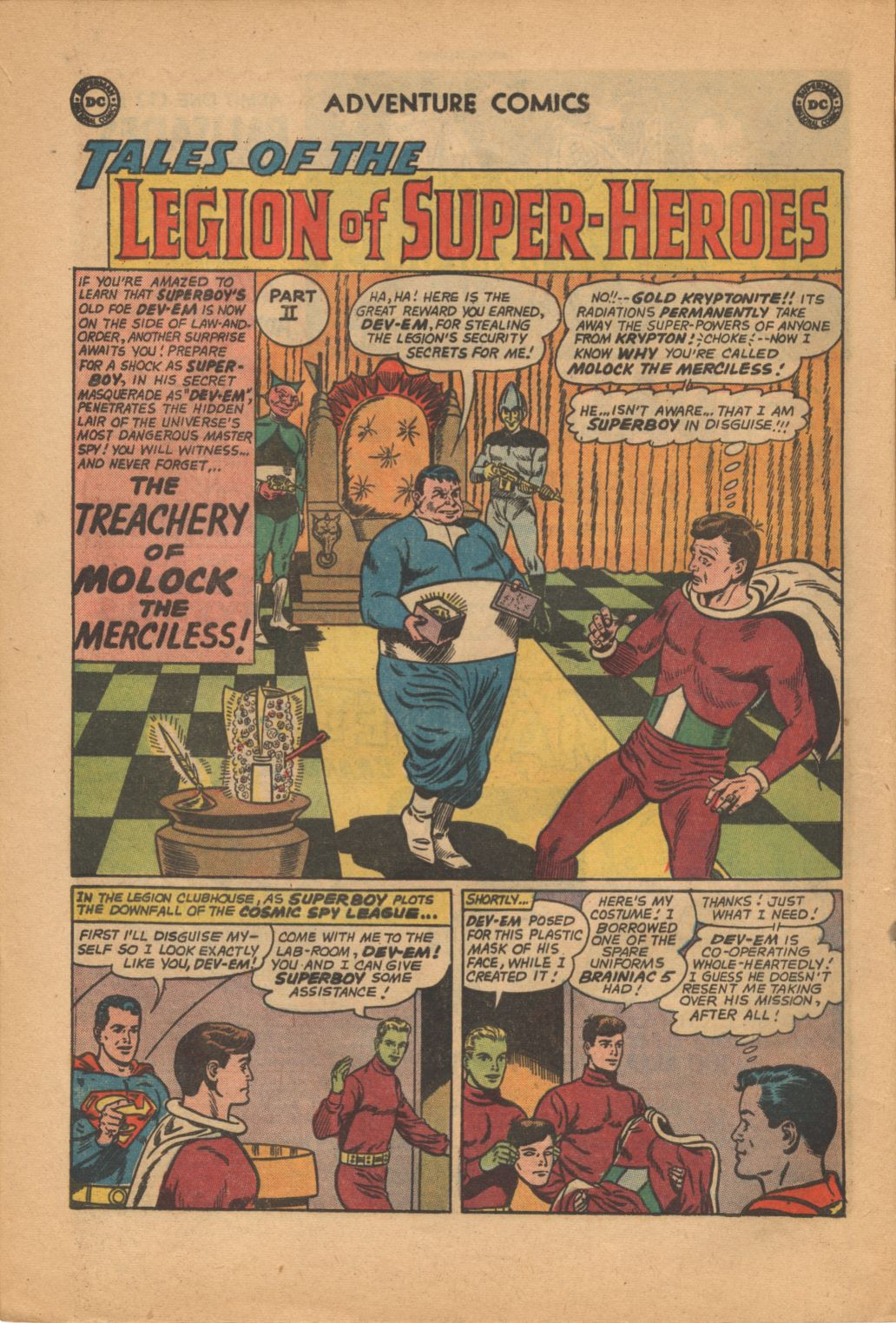Read online Adventure Comics (1938) comic -  Issue #320 - 16
