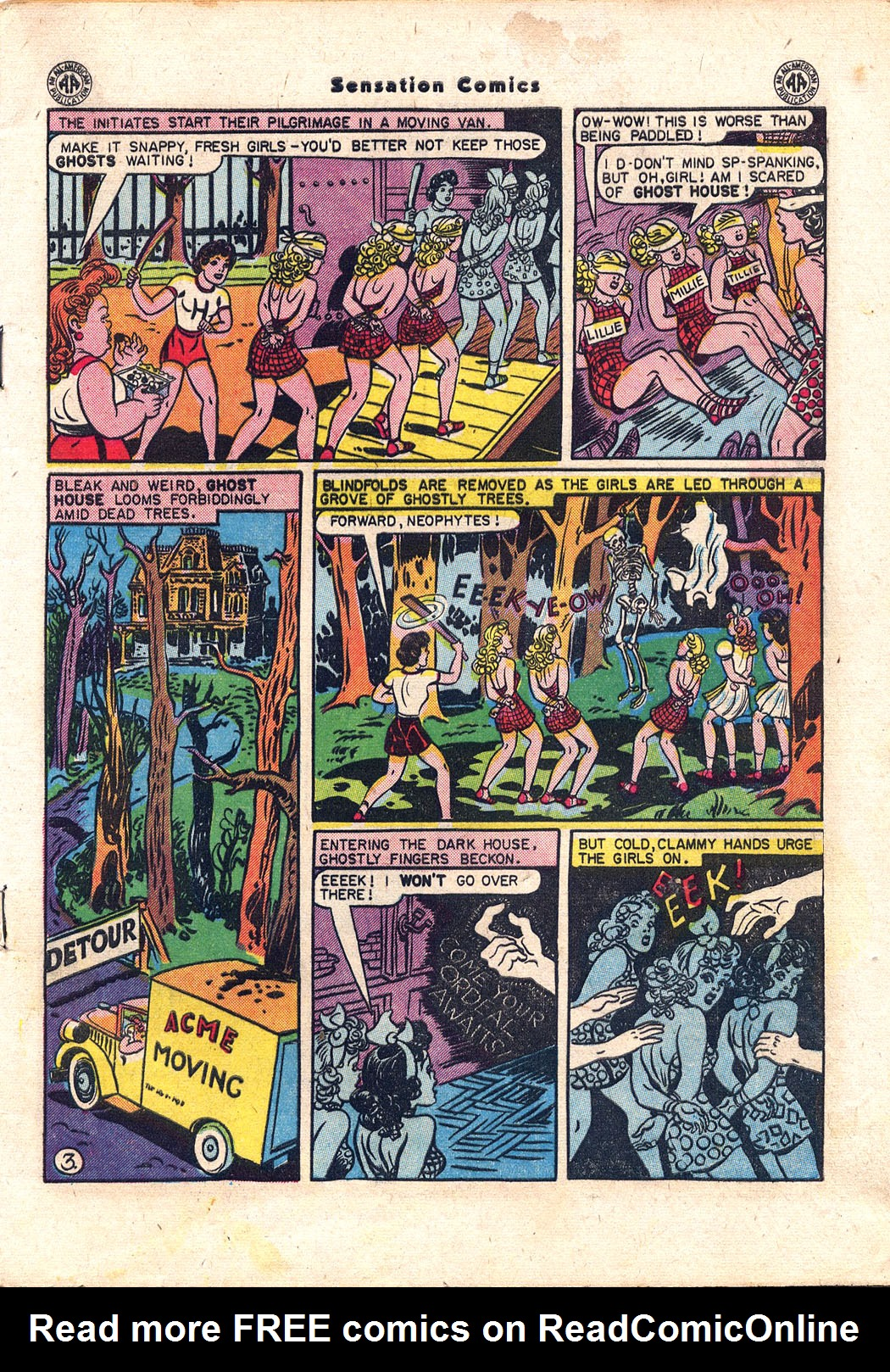 Read online Sensation (Mystery) Comics comic -  Issue #43 - 4