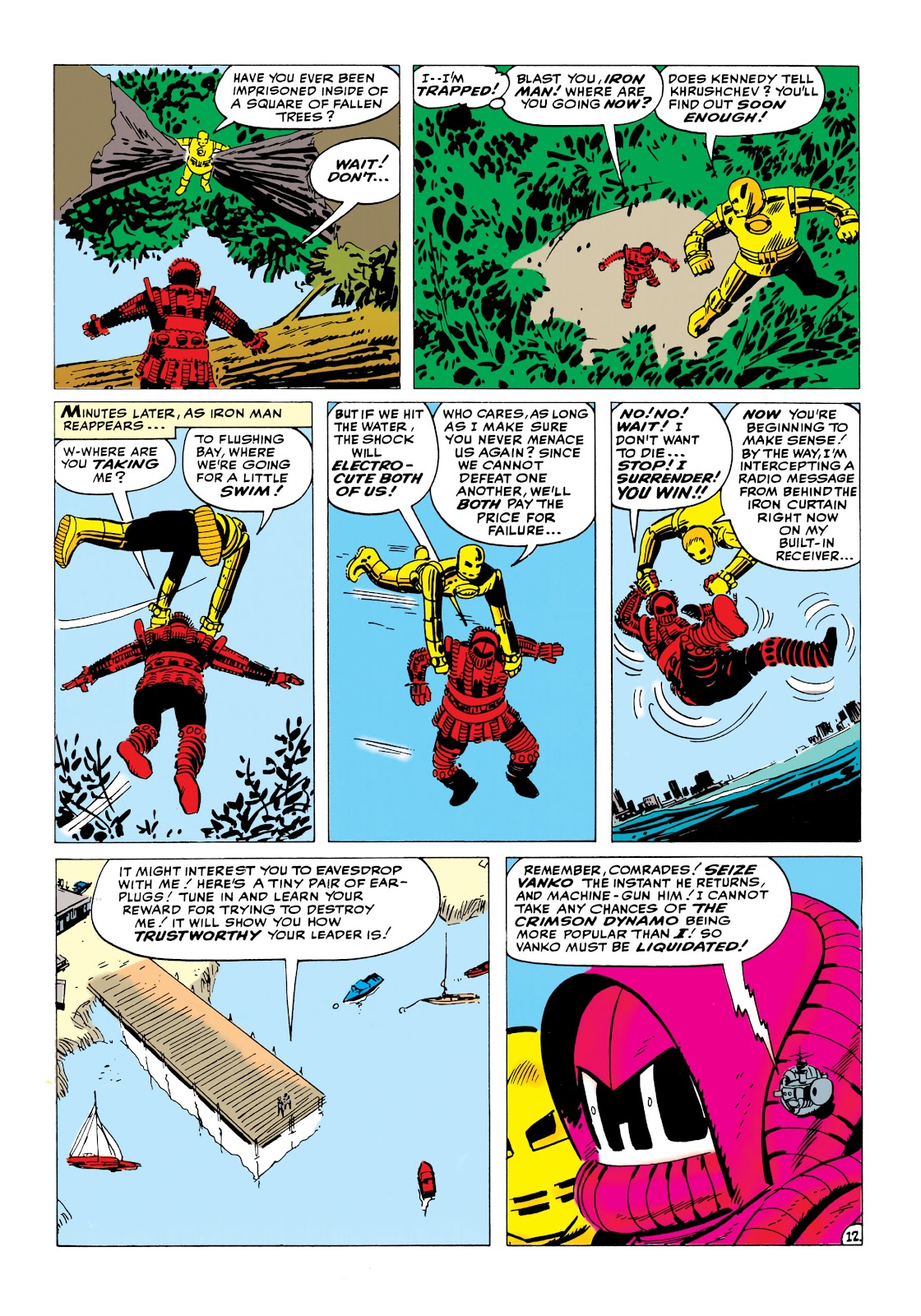Read online Marvel Masterworks: The Invincible Iron Man comic -  Issue # TPB 1 (Part 2) - 18