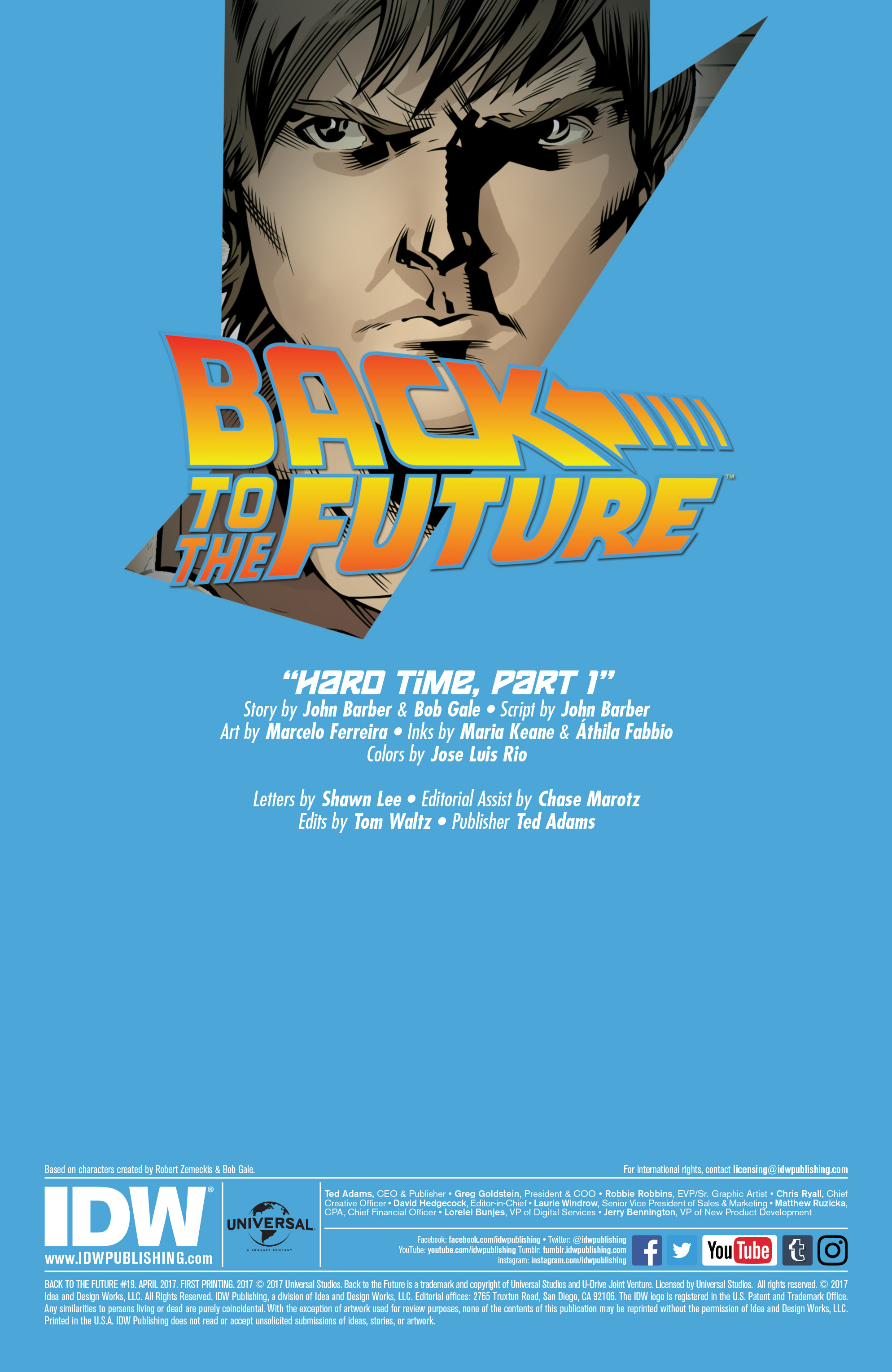 Read online Back to the Future (2015) comic -  Issue #19 - 2