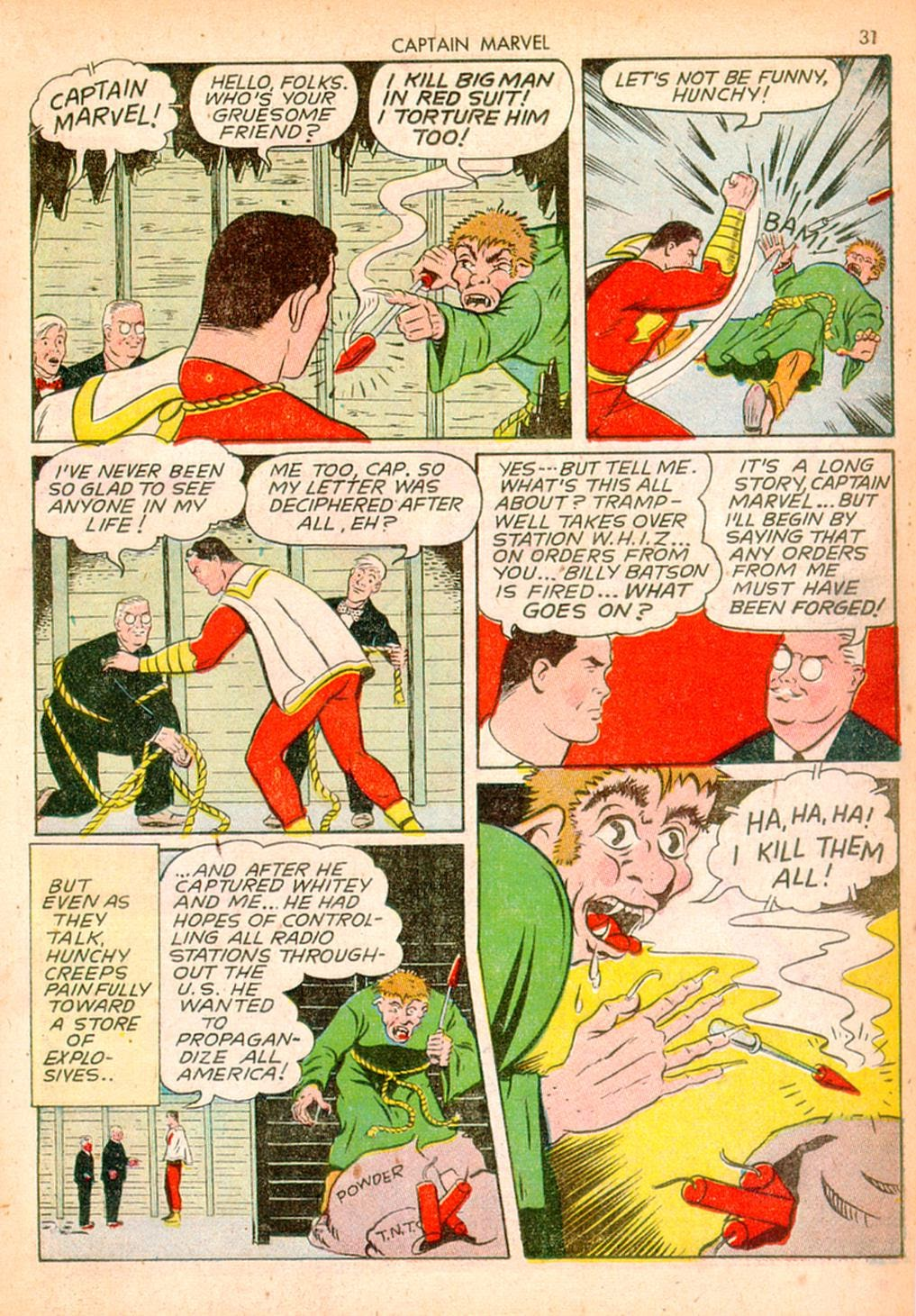 Captain Marvel Adventures issue 10 - Page 31