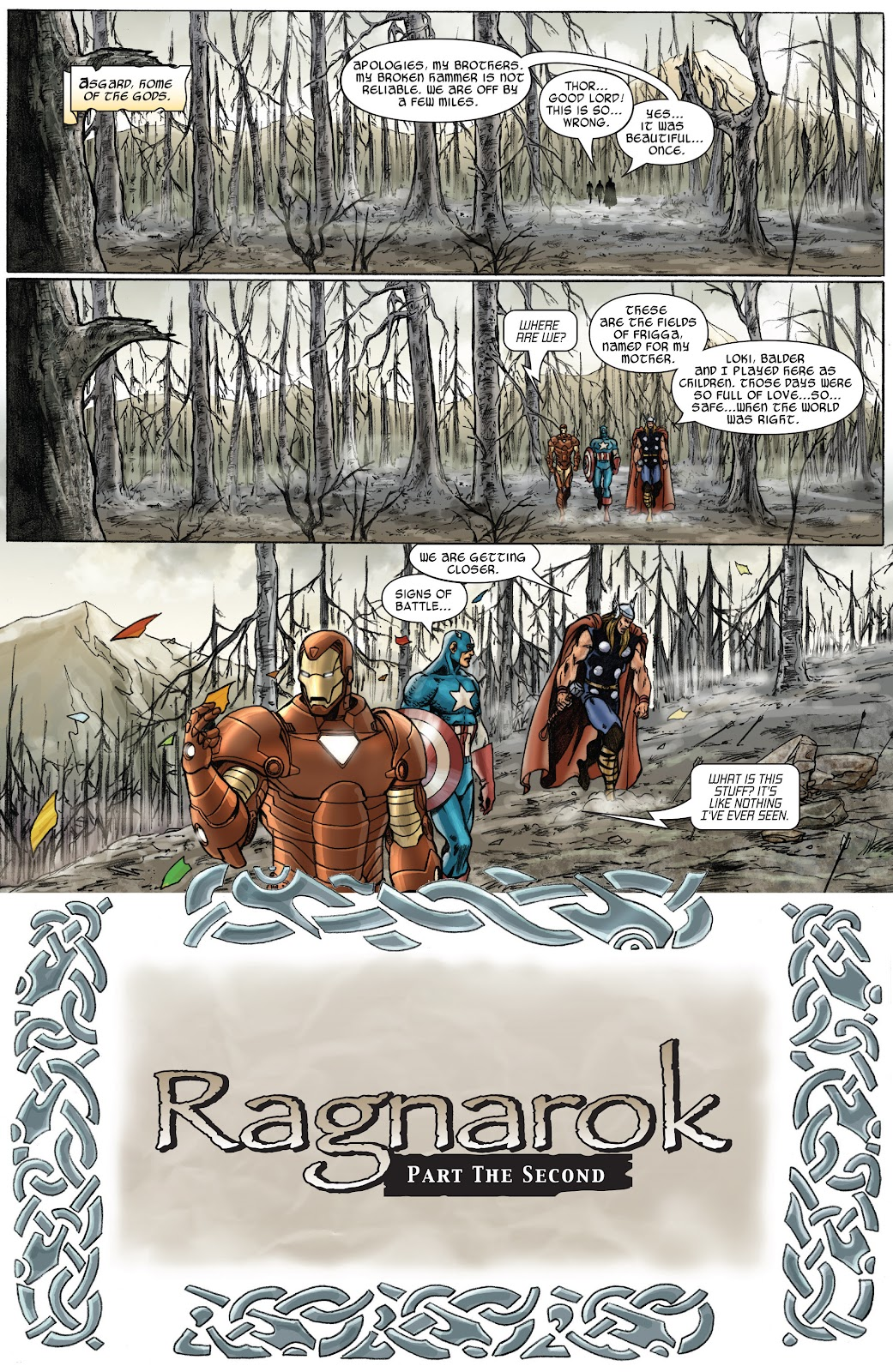 Read online Thor: Ragnaroks comic -  Issue # TPB (Part 2) - 54