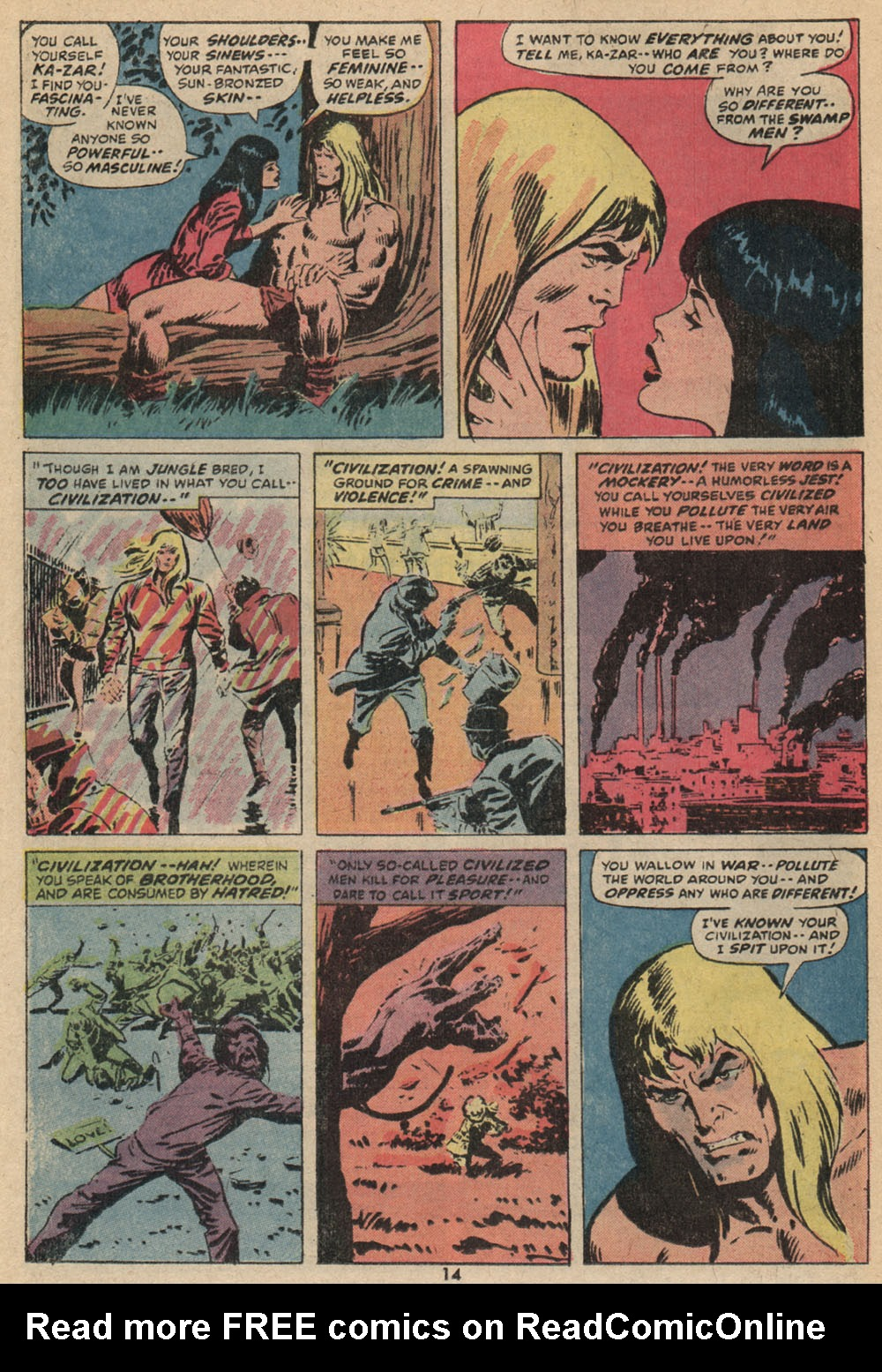 Astonishing Tales (1970) issue 14 - Page 10