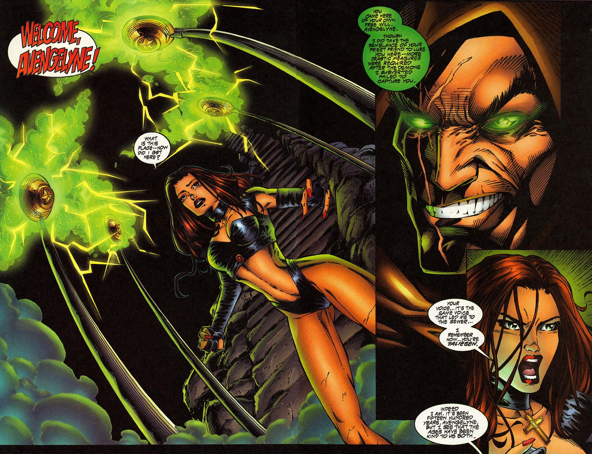 Read online Avengelyne (1996) comic -  Issue #10 - 19