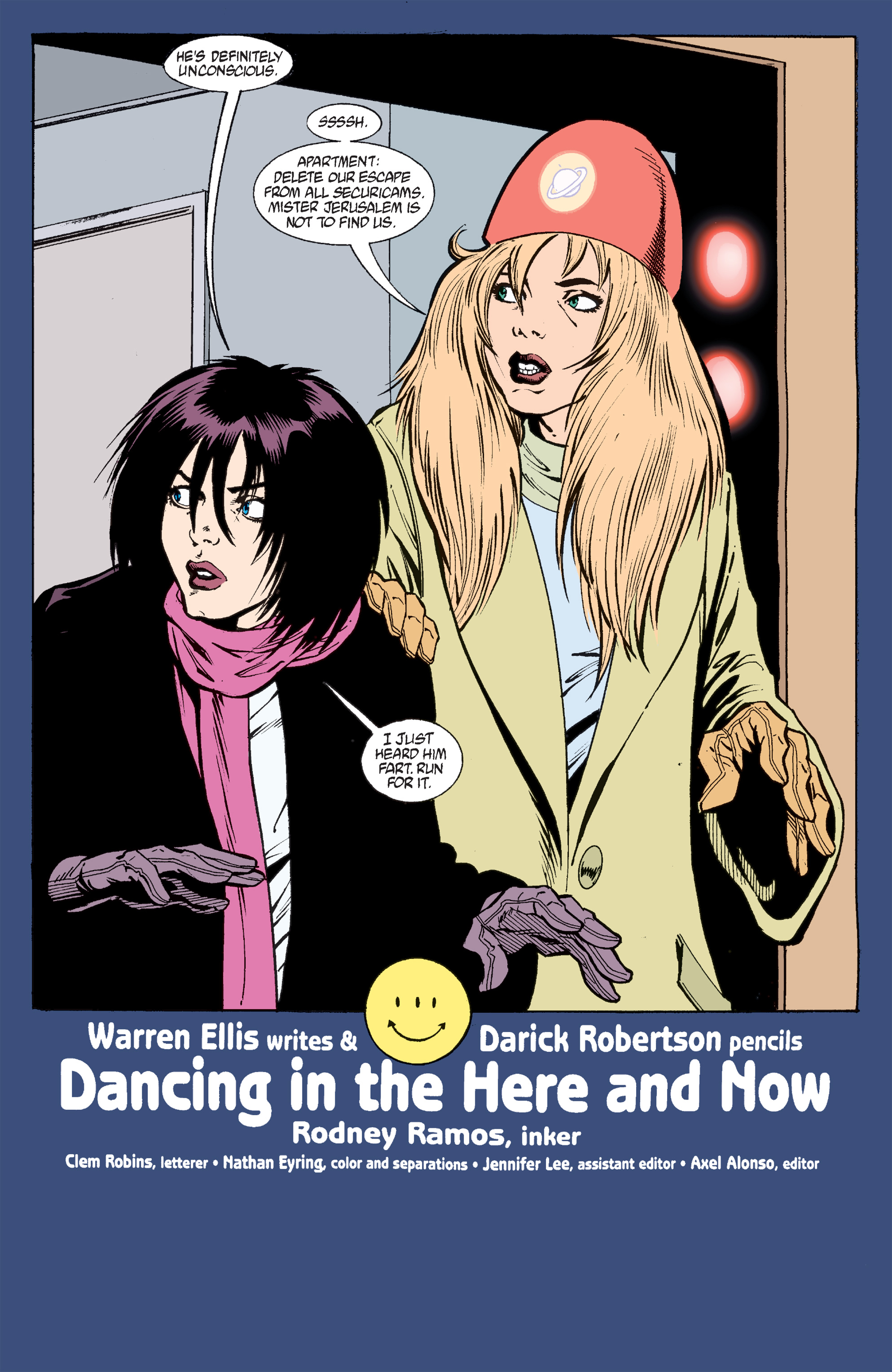 Read online Transmetropolitan comic -  Issue #33 - 2