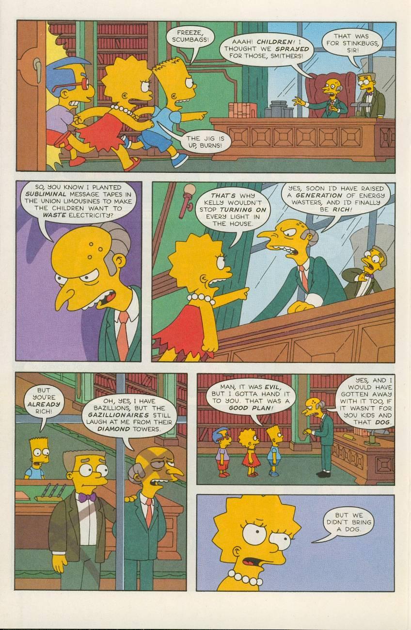 Read online Simpsons Comics comic -  Issue #49 - 19