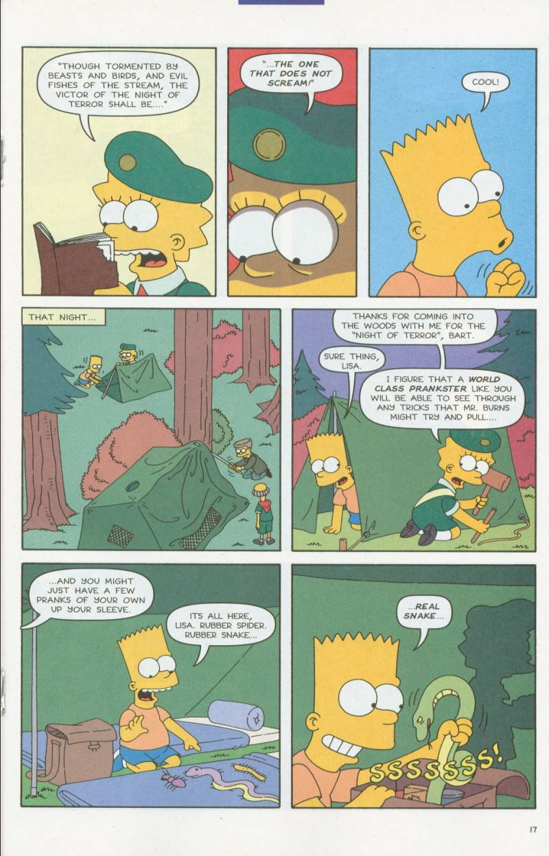 Read online Simpsons Comics comic -  Issue #63 - 18