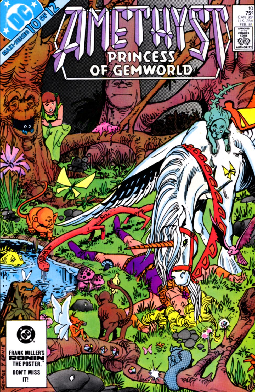 Read online Amethyst, Princess of Gemworld comic -  Issue #10 - 1