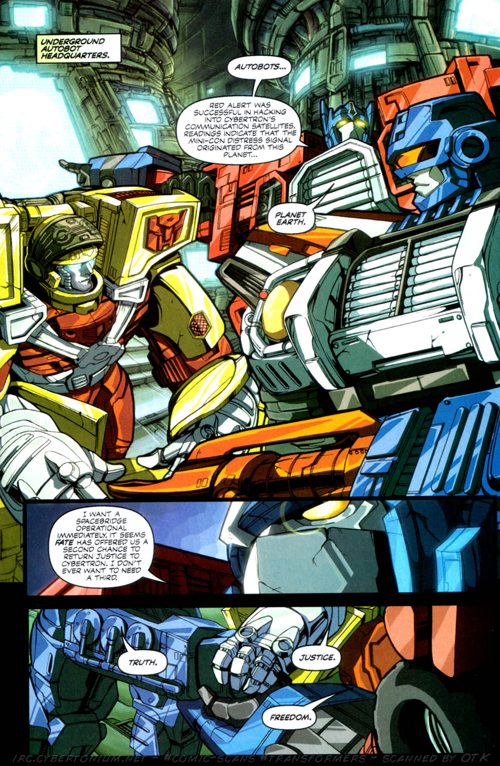 Read online Transformers Armada comic -  Issue #3 - 19
