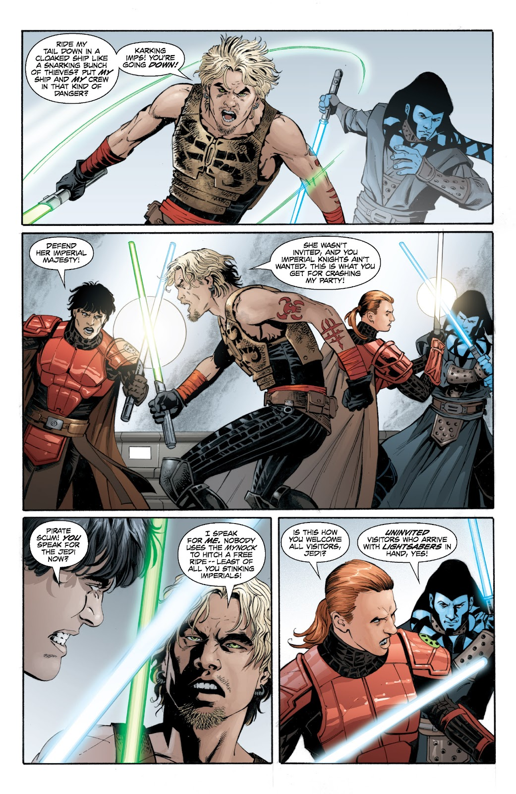 Read online Star Wars Legends: Legacy - Epic Collection comic -  Issue # TPB 2 (Part 2) - 56