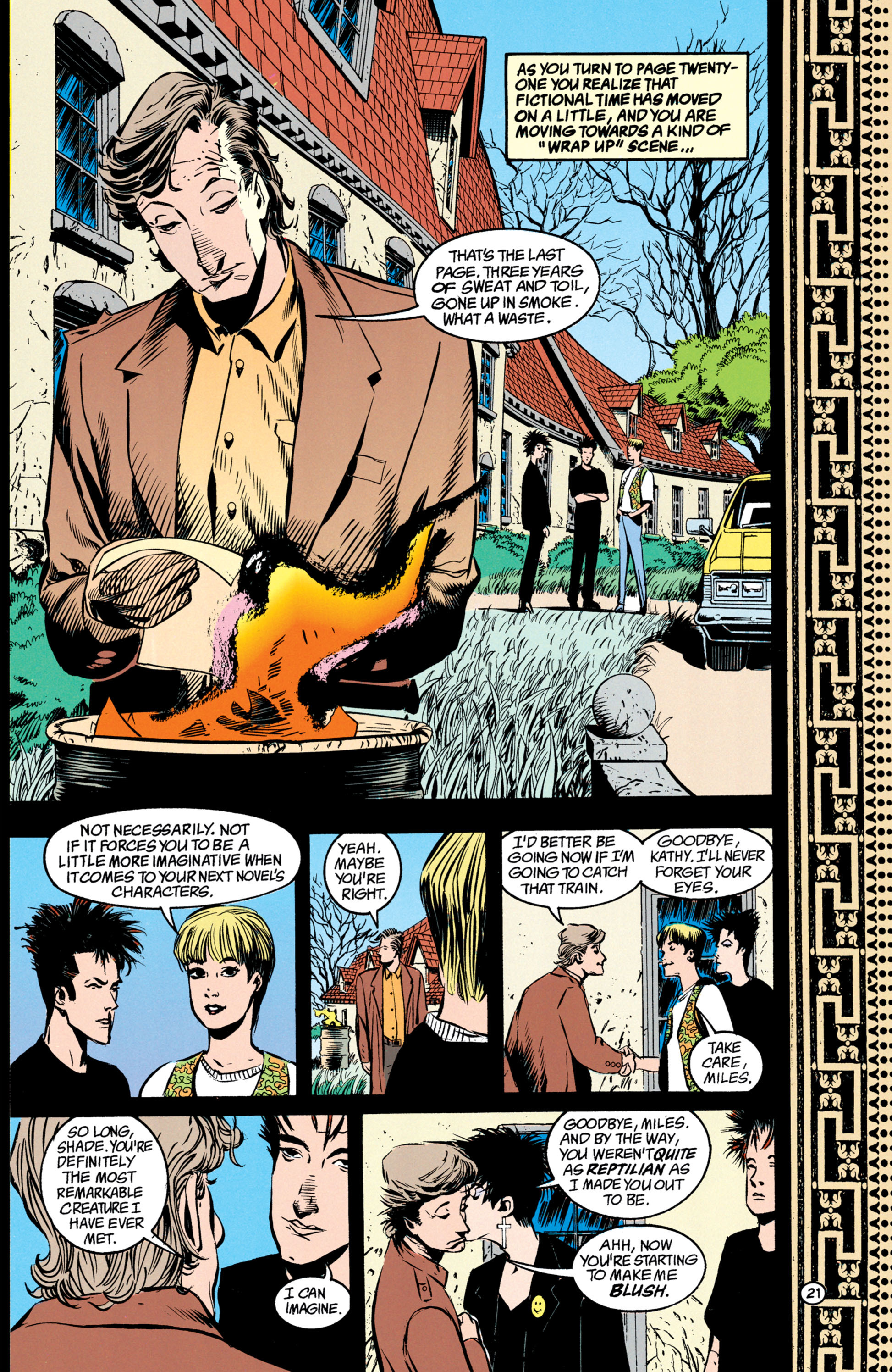 Read online Shade, the Changing Man comic -  Issue #39 - 22