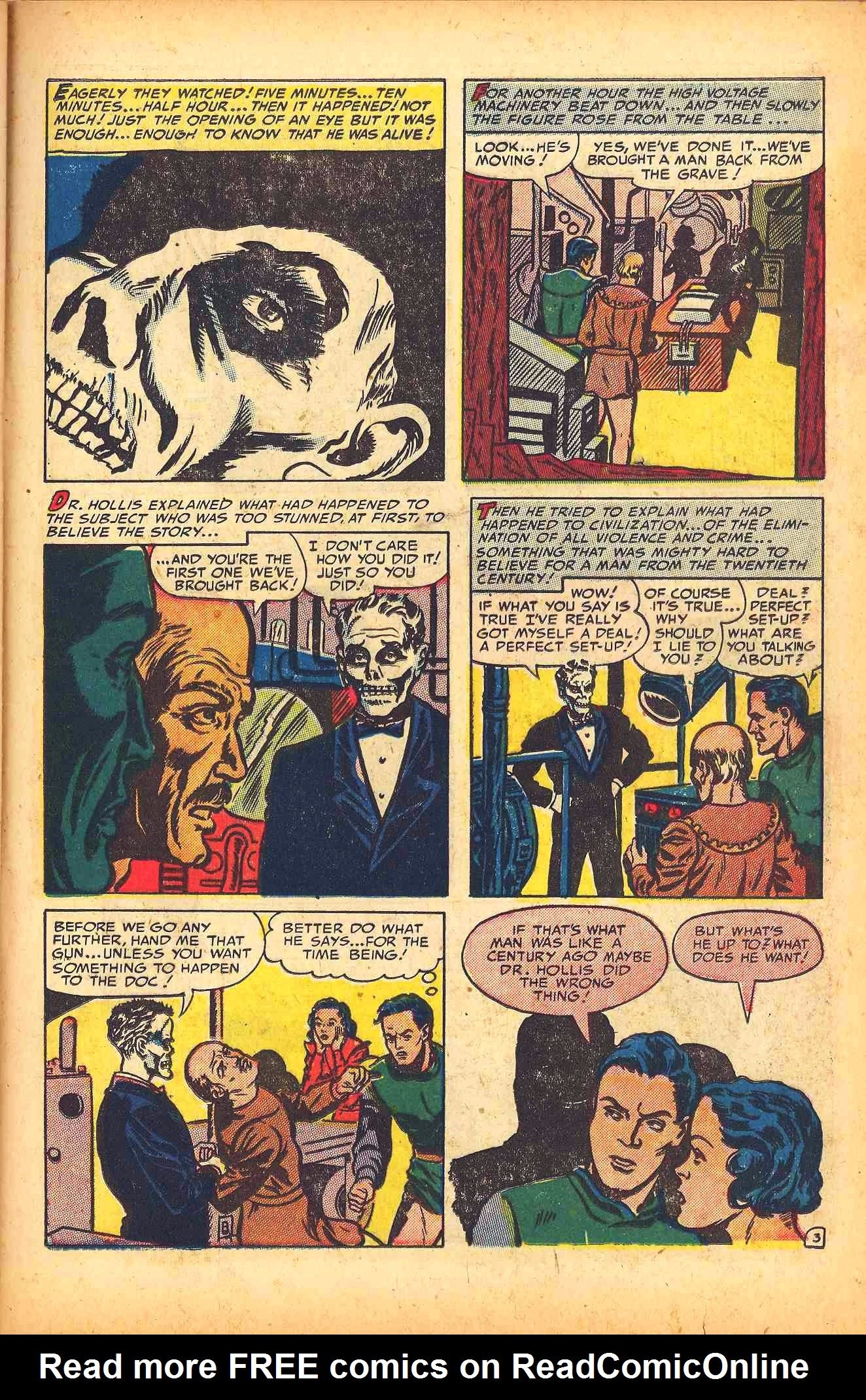 Weird Mysteries (1952) issue 6 - Page 25