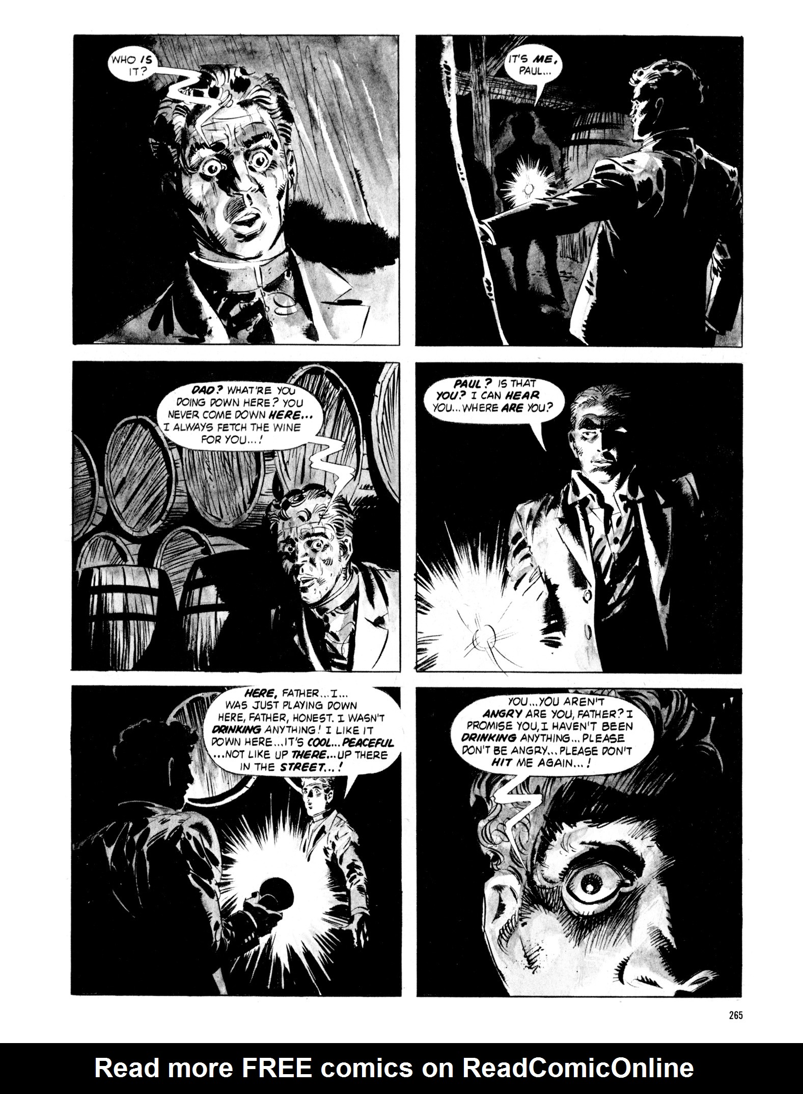Read online Eerie Archives comic -  Issue # TPB 18 - 262