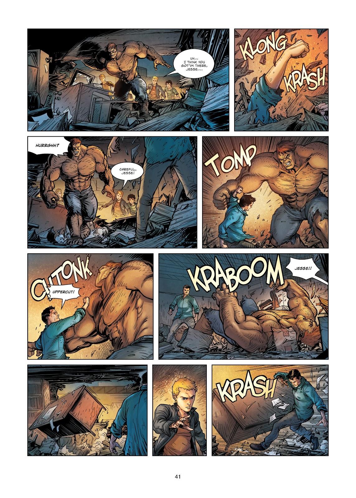 Read online Vigilantes comic -  Issue #3 - 41