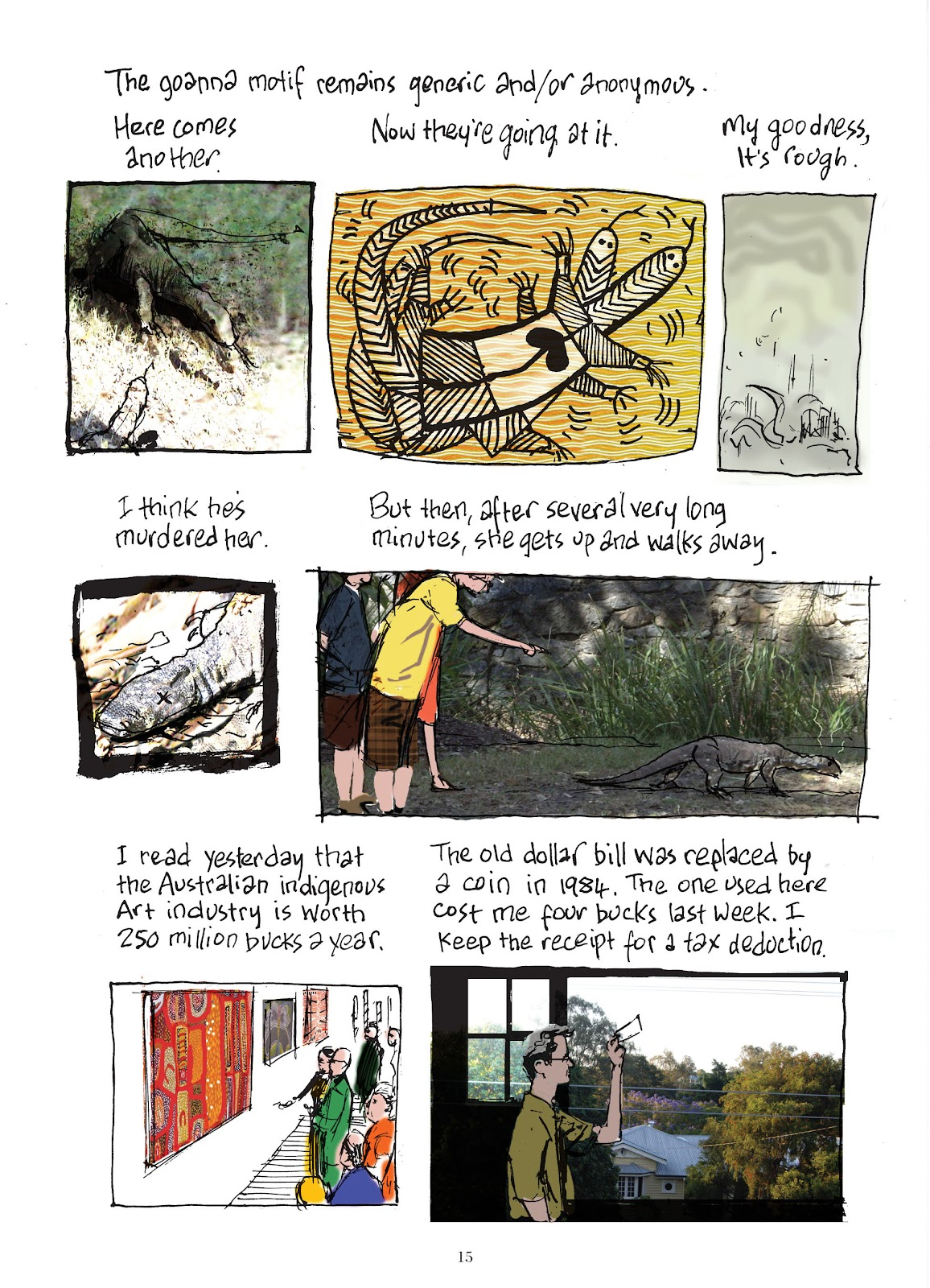 Read online The Lovely Horrible Stuff comic -  Issue # TPB - 17